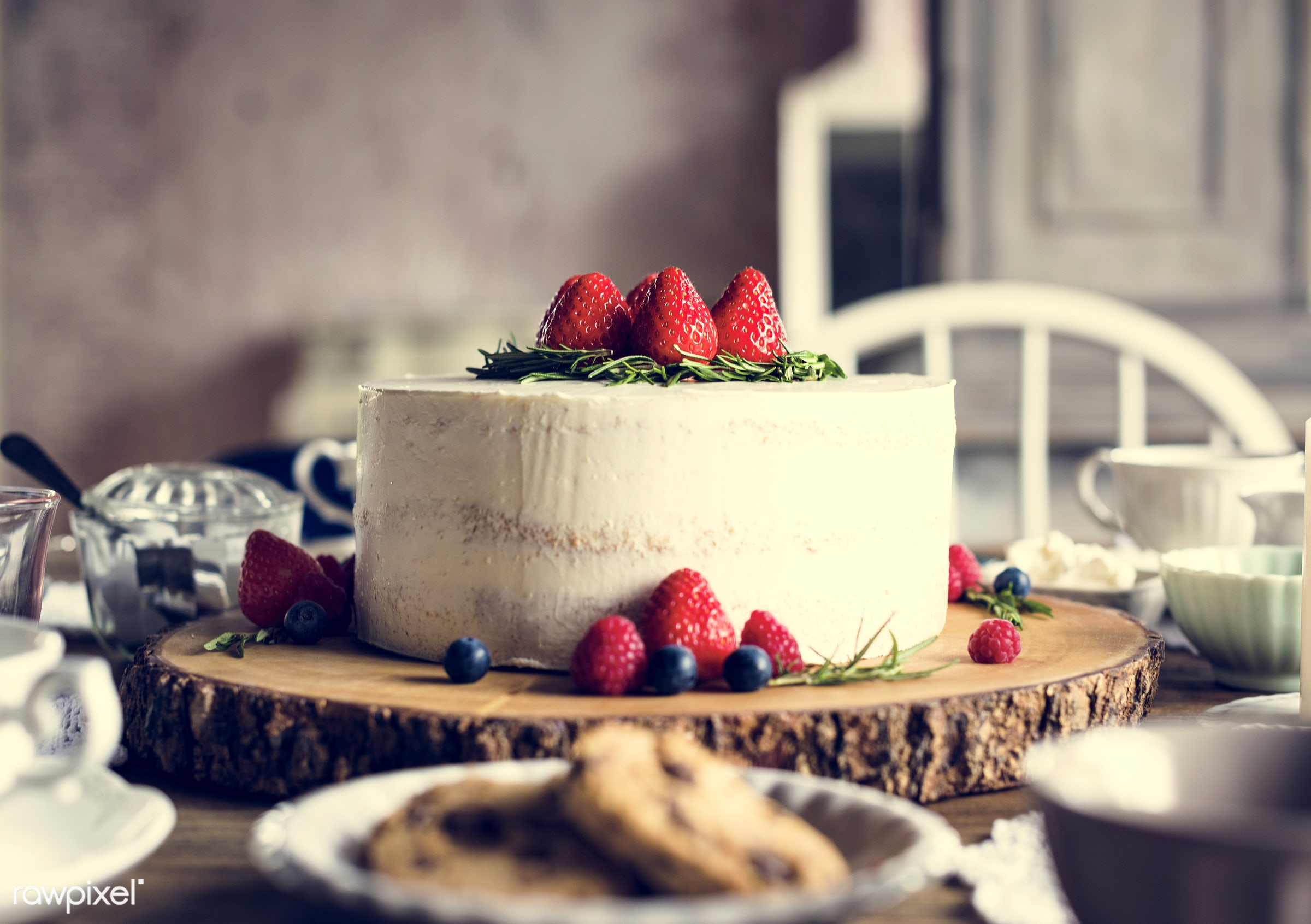 dish, nobody, recipe, party, tea, tea party, break, bakery, frosting, event, gourmet, dessert, cake, fruit, strawberry,...