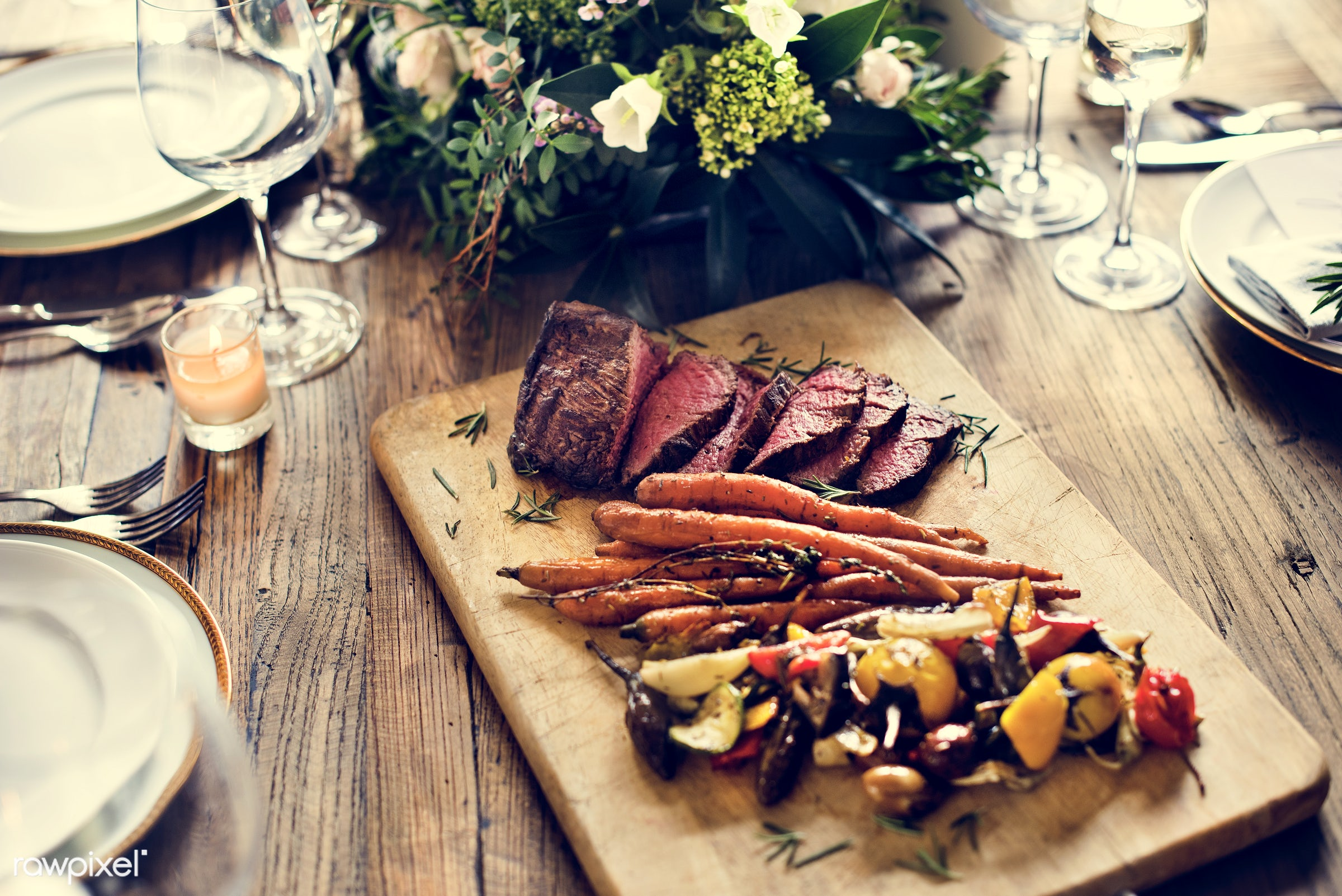 grill, herbs, beef, pepper, cooked, restaurant, spices, meat, bbq, roasted, fillet, gourmet, grilled, meal, steak, roast,...