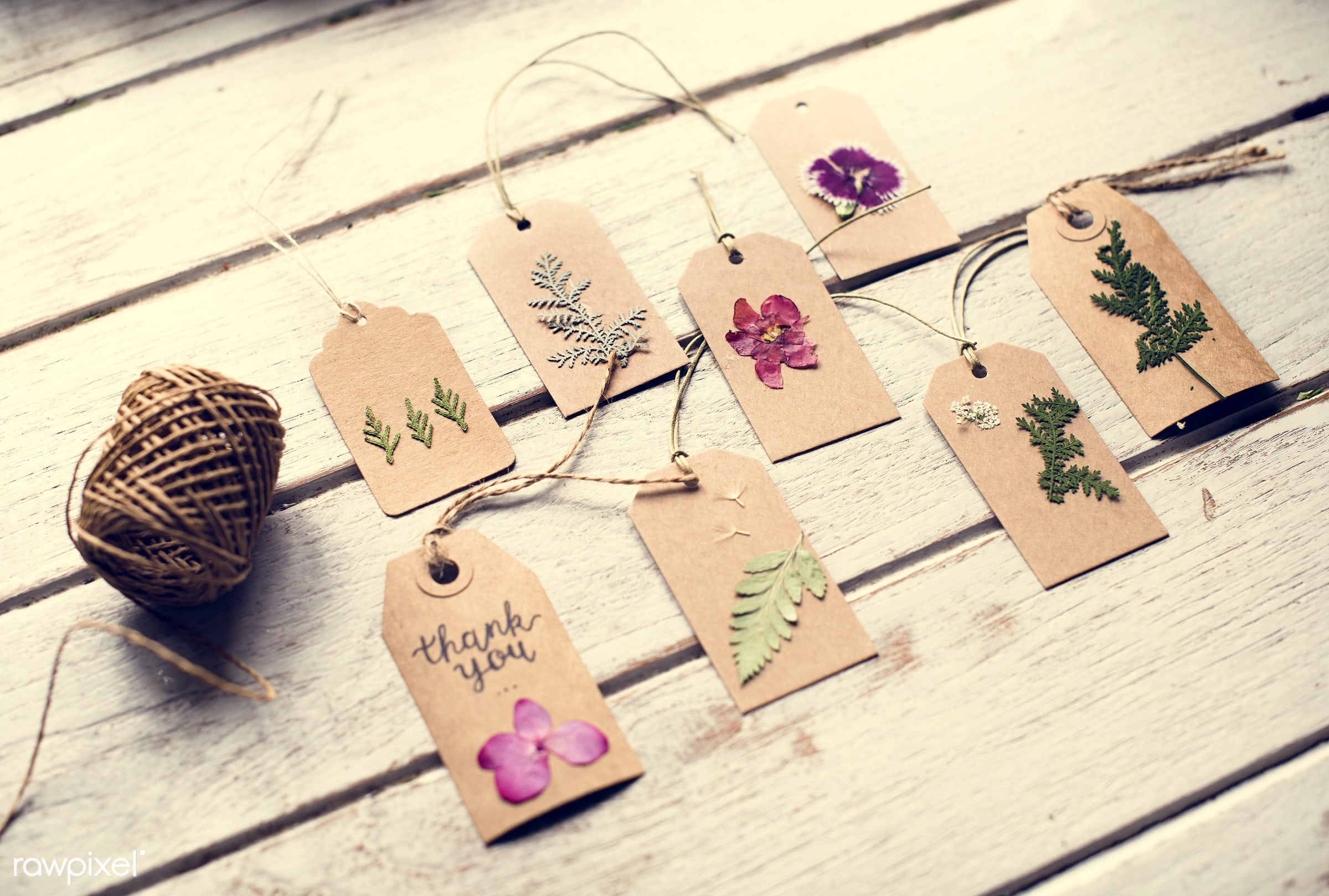 nobody, detail, handicraft, tag, leaf, leaves, decor, roll, dried, nature, flowers, pine, florist, present, arrangement,...