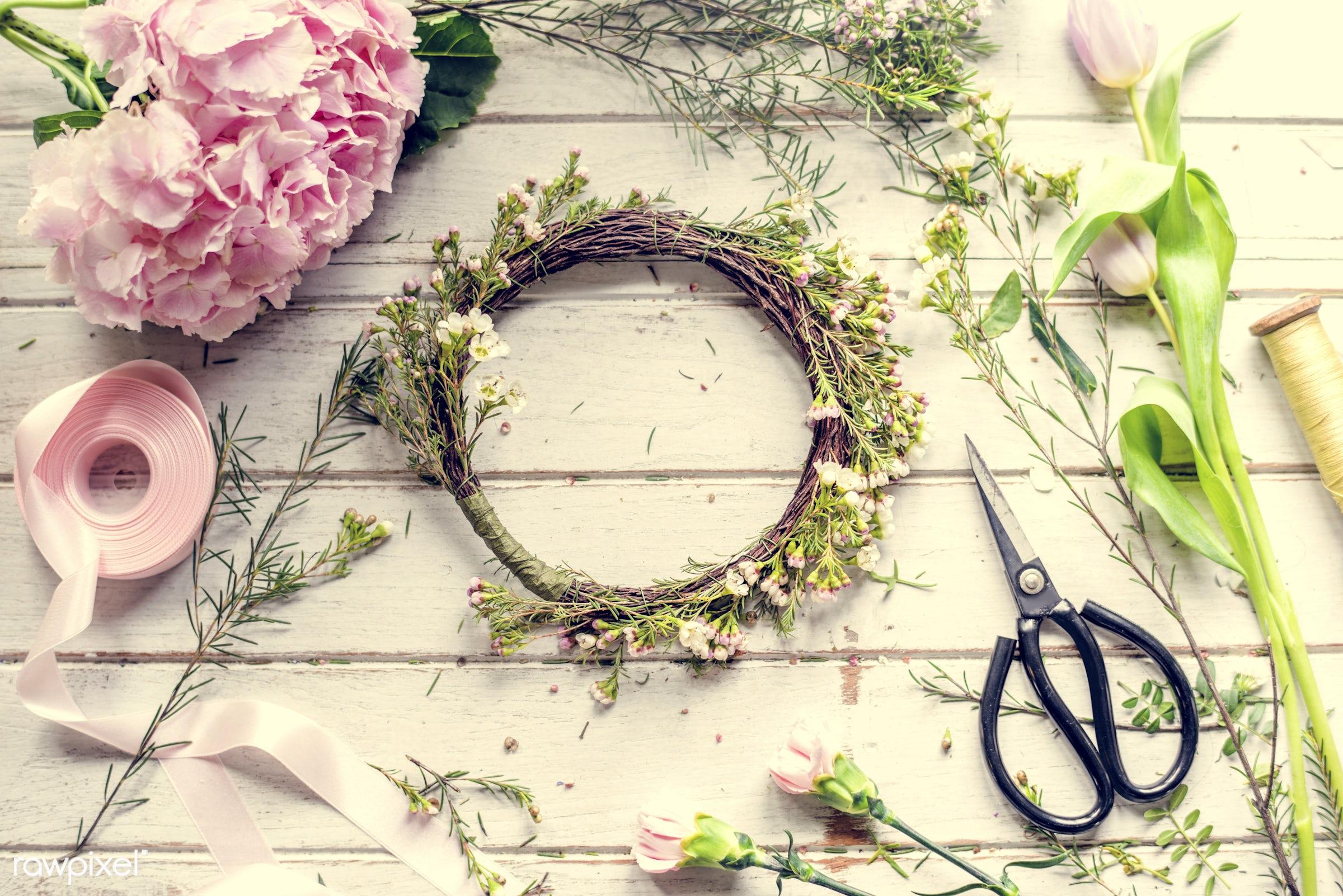 shop, festive, detail, decorative, colorful, events, plants, spring, blossom, wax flower, decor, nature, fresh, attractive,...