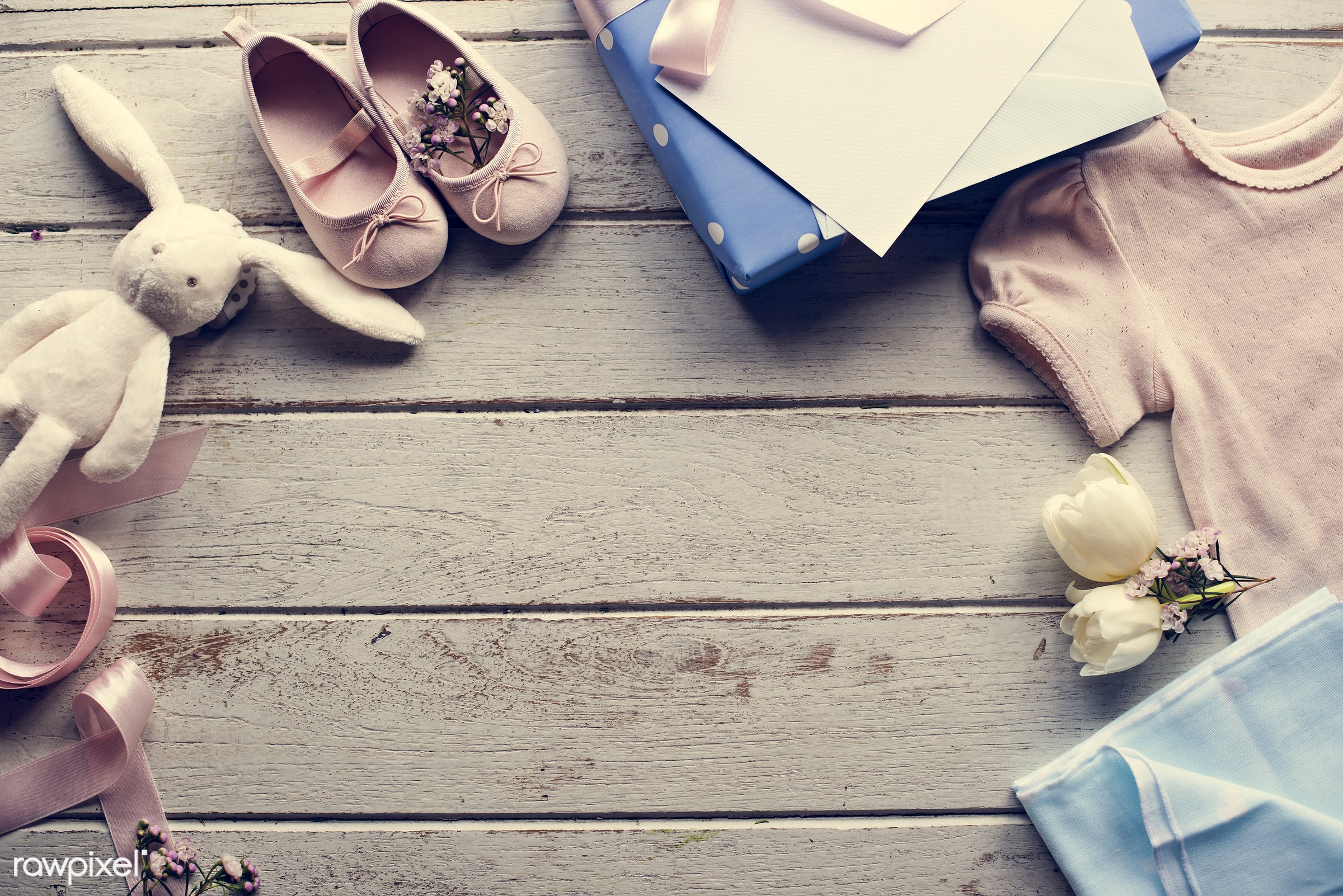 rabbit, concept, fashion, gift, decorative, footwear, collection, object, decor, ribbon, shoe, flower, shoes, doll,...
