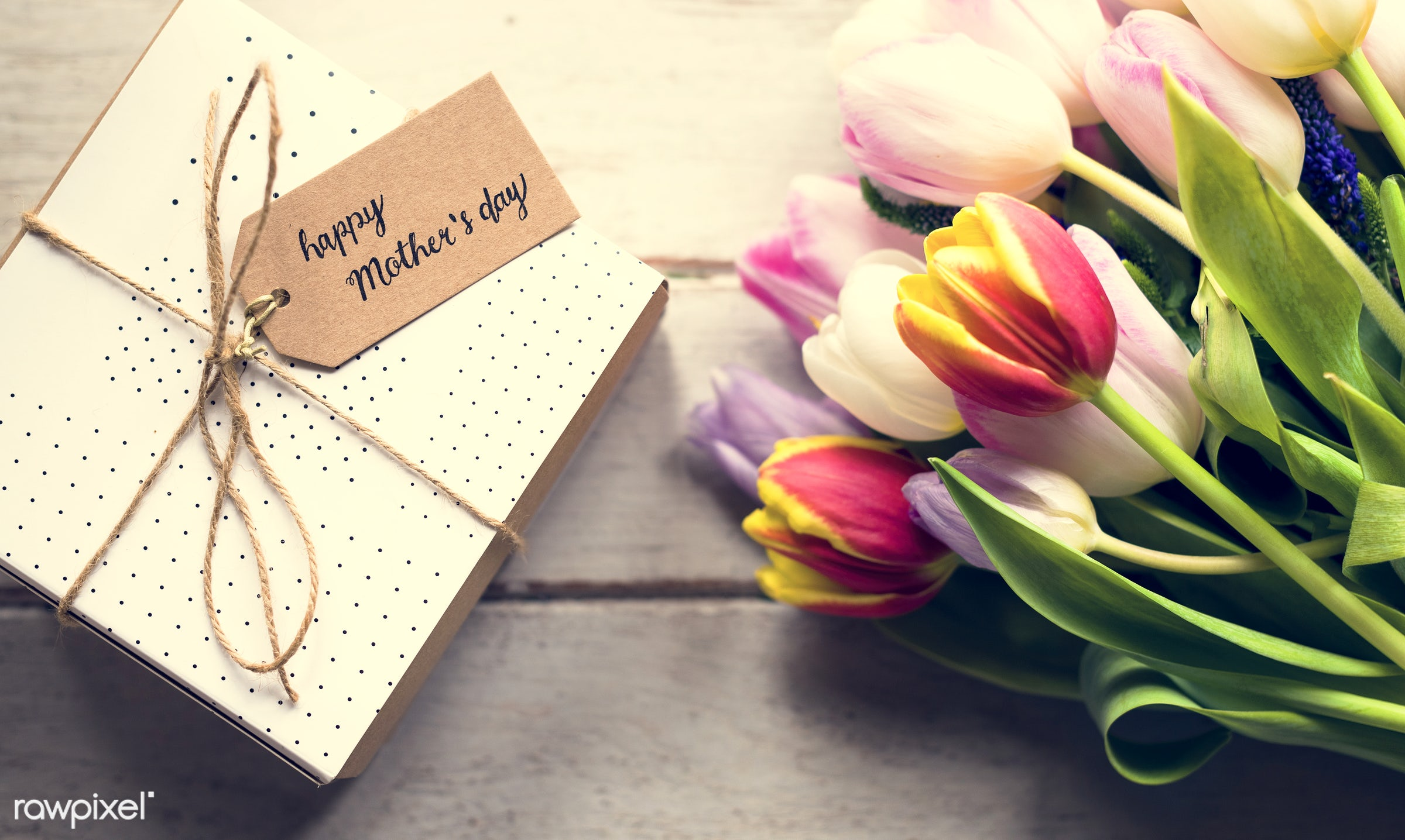 bouquet, nobody, detail, wrapped, tag, decor, nature, card, flowers, cheerful, flower, greeting, refreshment, present,...