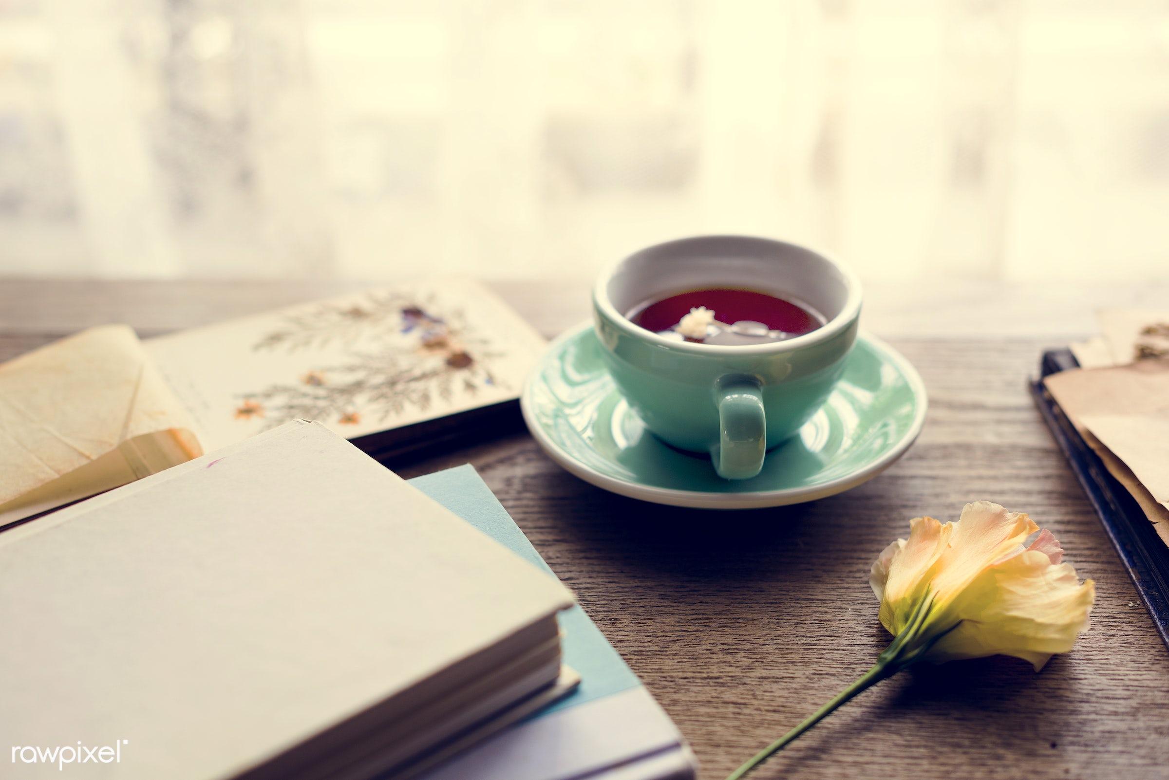 cup, nobody, detail, relax, tea, break, nature, drink, flowers, cheerful, flower, coffee, refreshment, leisure, floristics,...