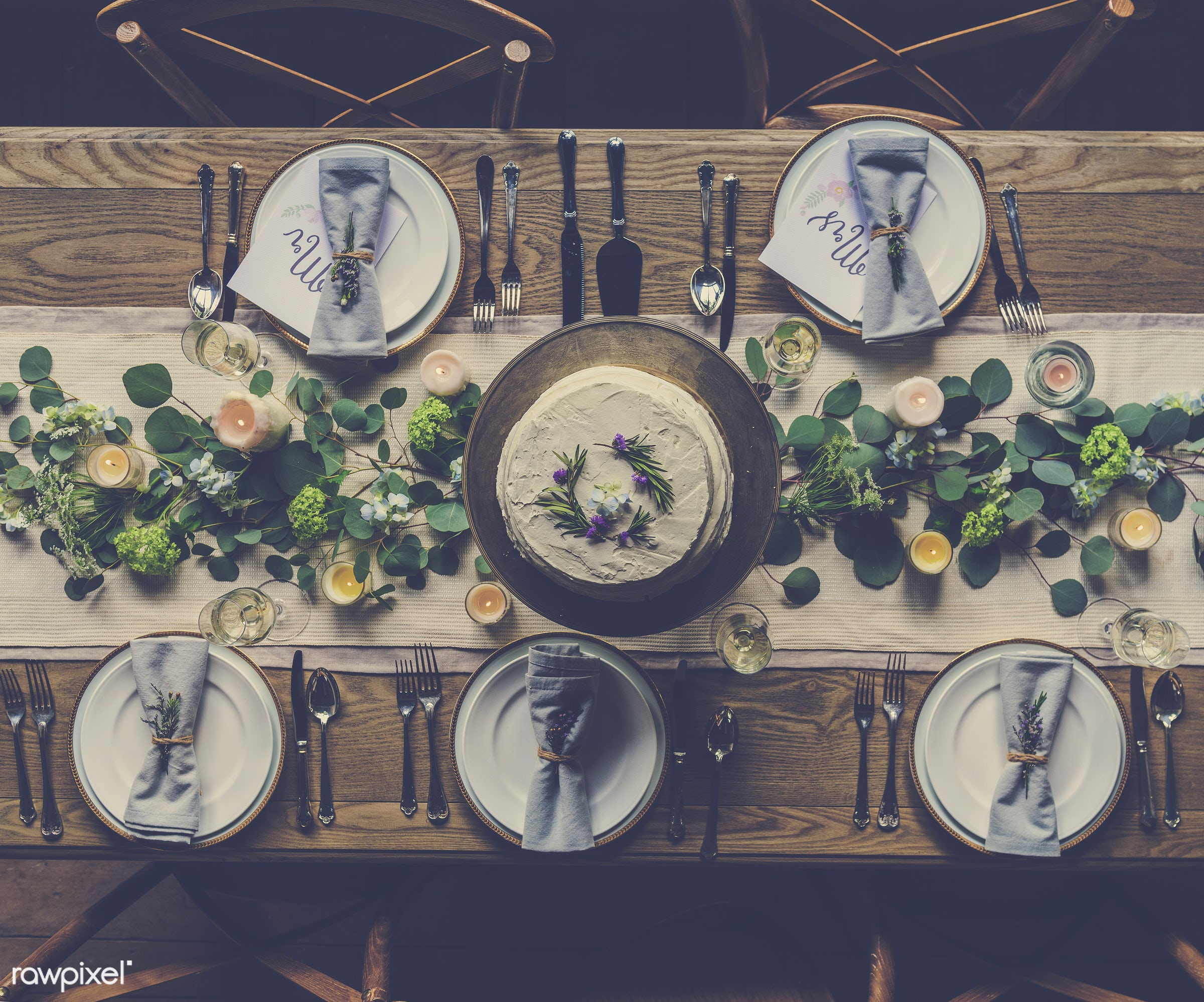 nobody, ornate, catering, silverware, restaurant, party, setting, decor, candle, tablecloth, event, banquet, lunch, meal,...