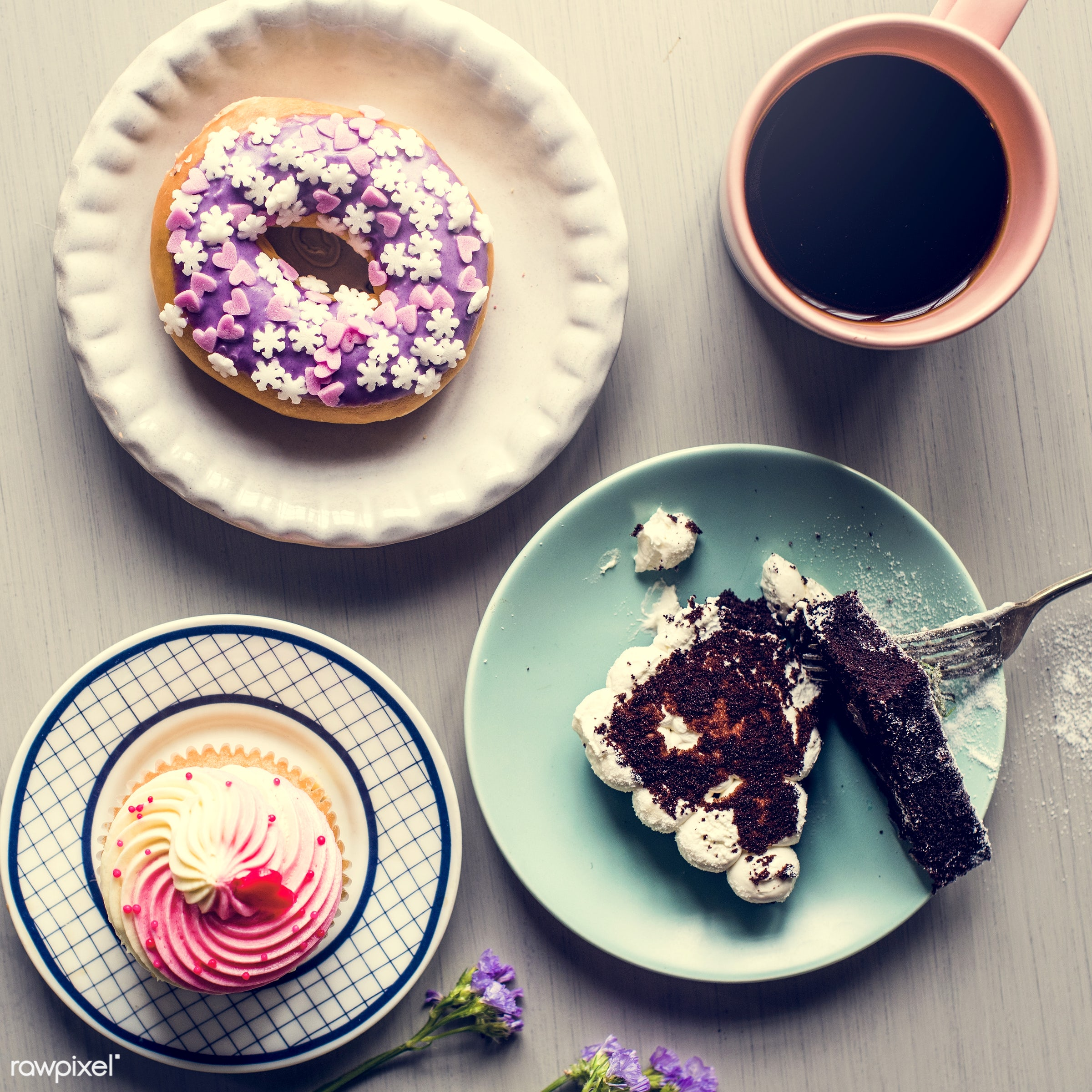 cup, dish, nobody, recipe, donut, occasion, appetite, party, baked, taste, break, event, flowers, celebrate, gourmet,...