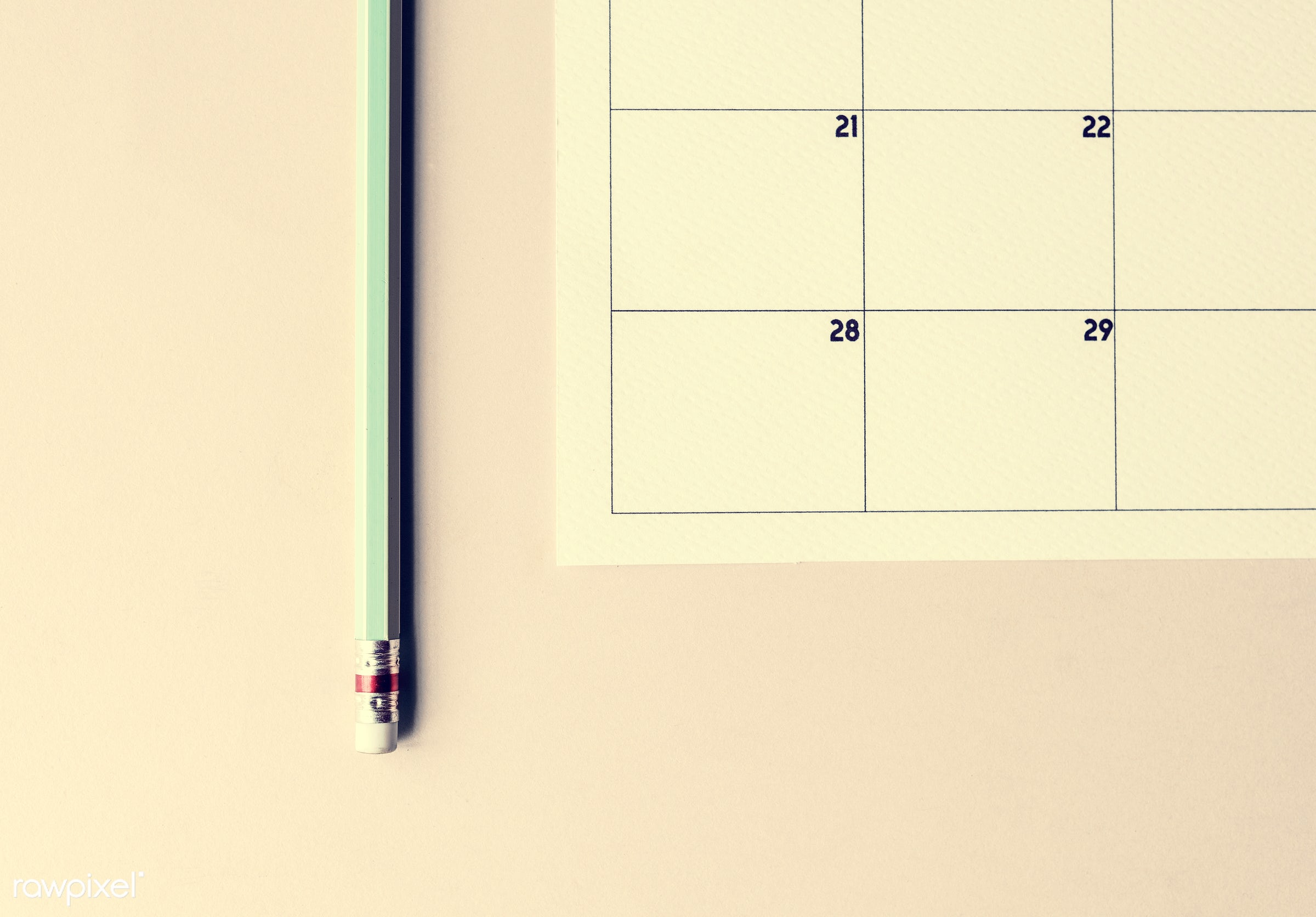 appointment, calendar, date, day, design, equipment, event, management, month, monthly, note, object, organizer, page, paper...
