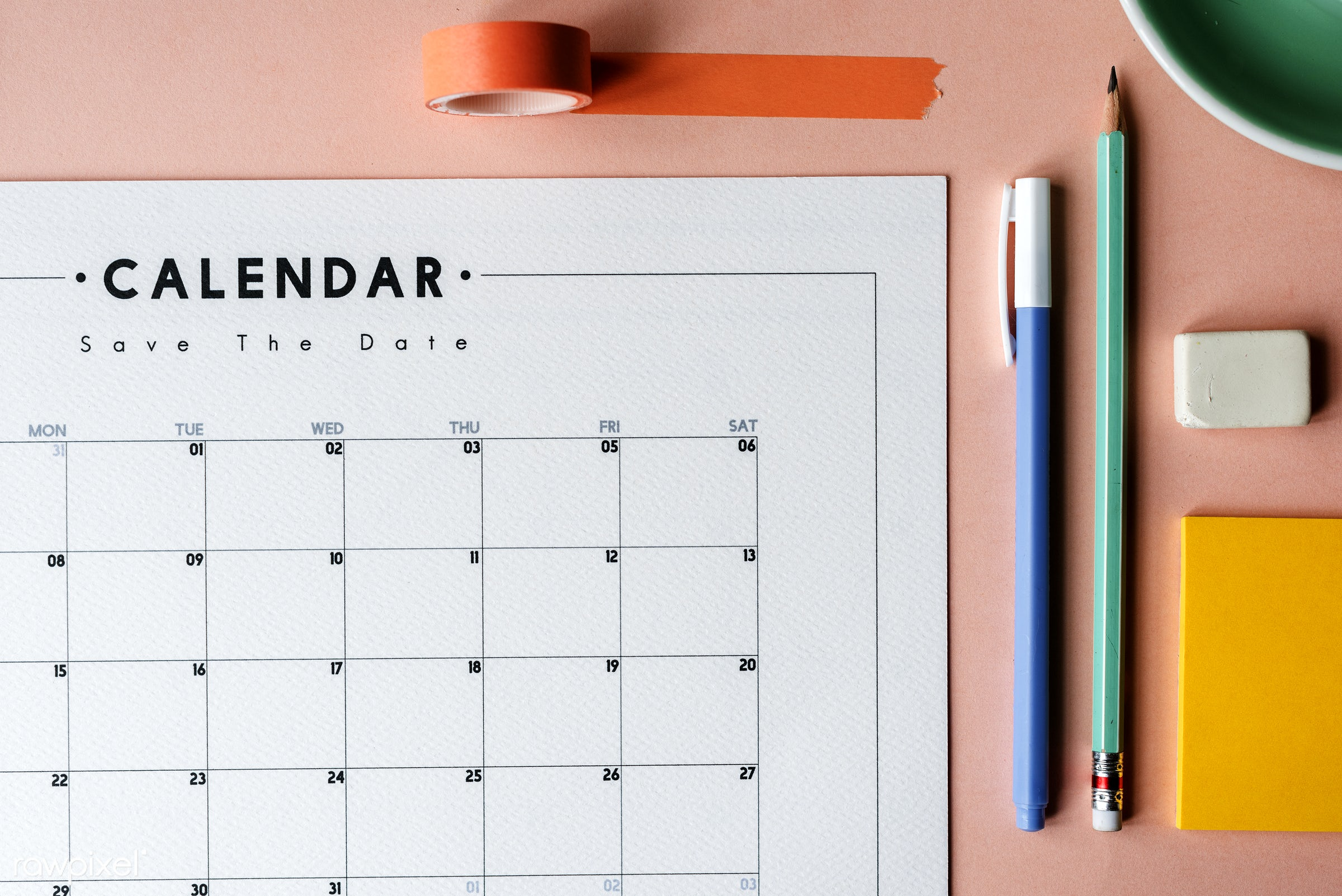 calendar, month, appointment, date, day, design, equipment, eraser, event, management, memo, monthly, note, notepad, object...