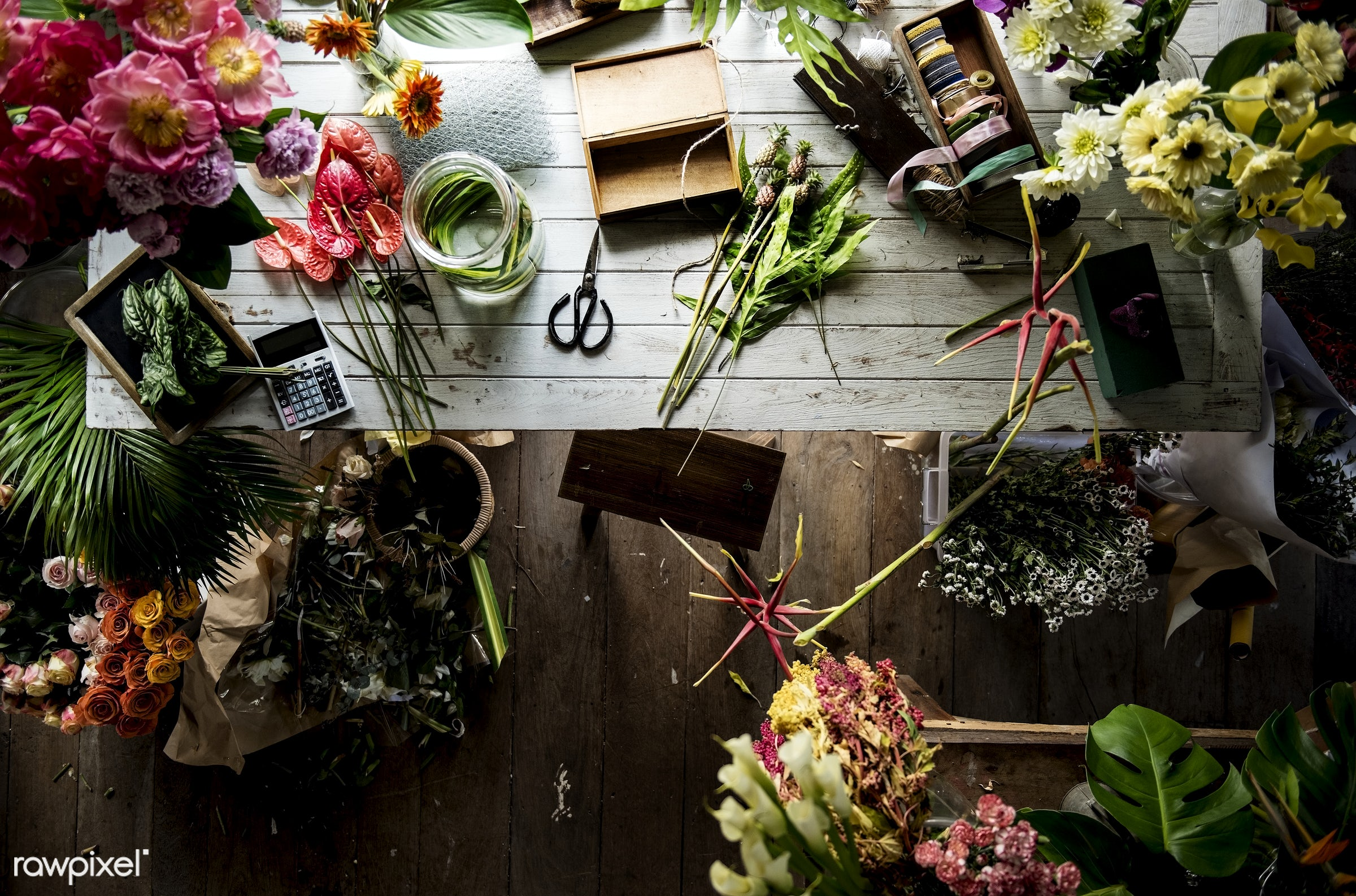 nobody, store, small business, indoors, self-employed, business, nature, style, flowers, vintage, decoration, romantic,...