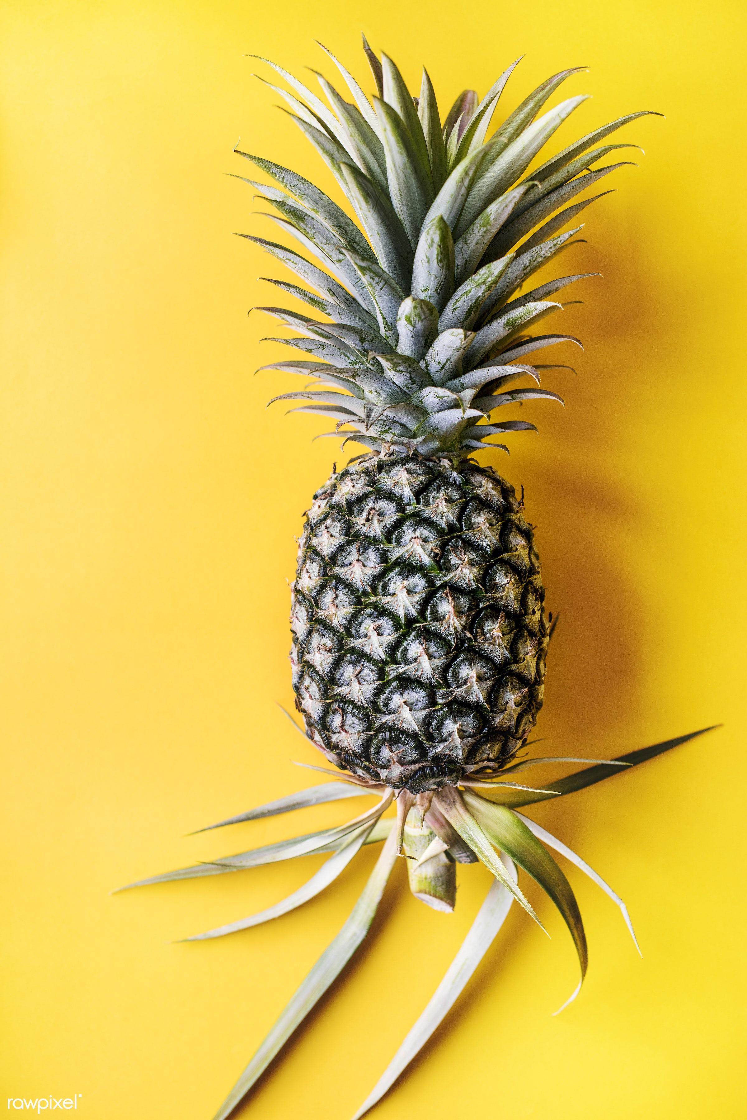 juicy, single, tropical, yellow, hawaiian, fresh, isolated, fruit, fruits, refreshment, health, edible, tasty, nutrition,...