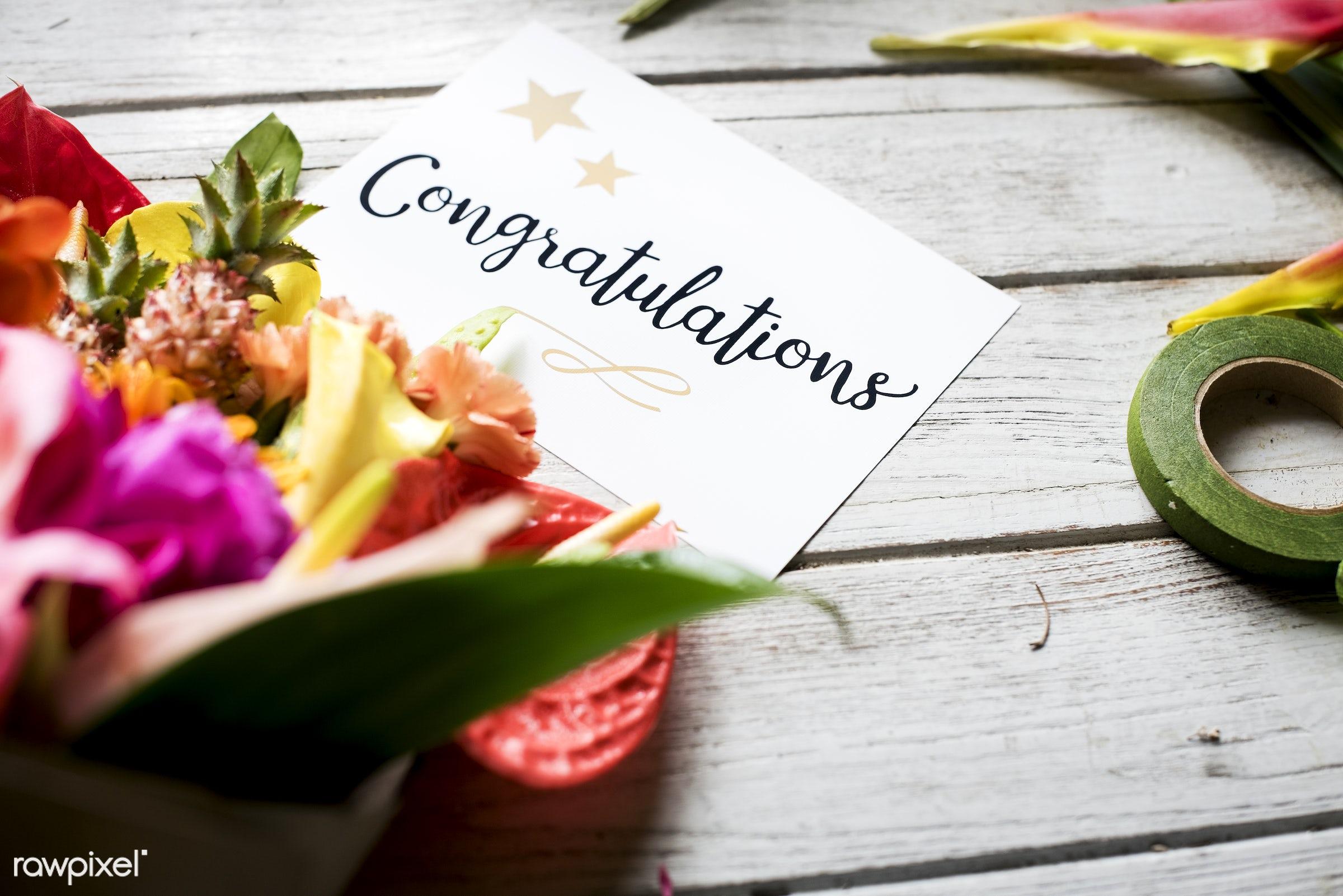 plant, bouquet, flora, decoration, refreshment, leisure, table, congratulations, florist, wooden, recreational, fresh, card...