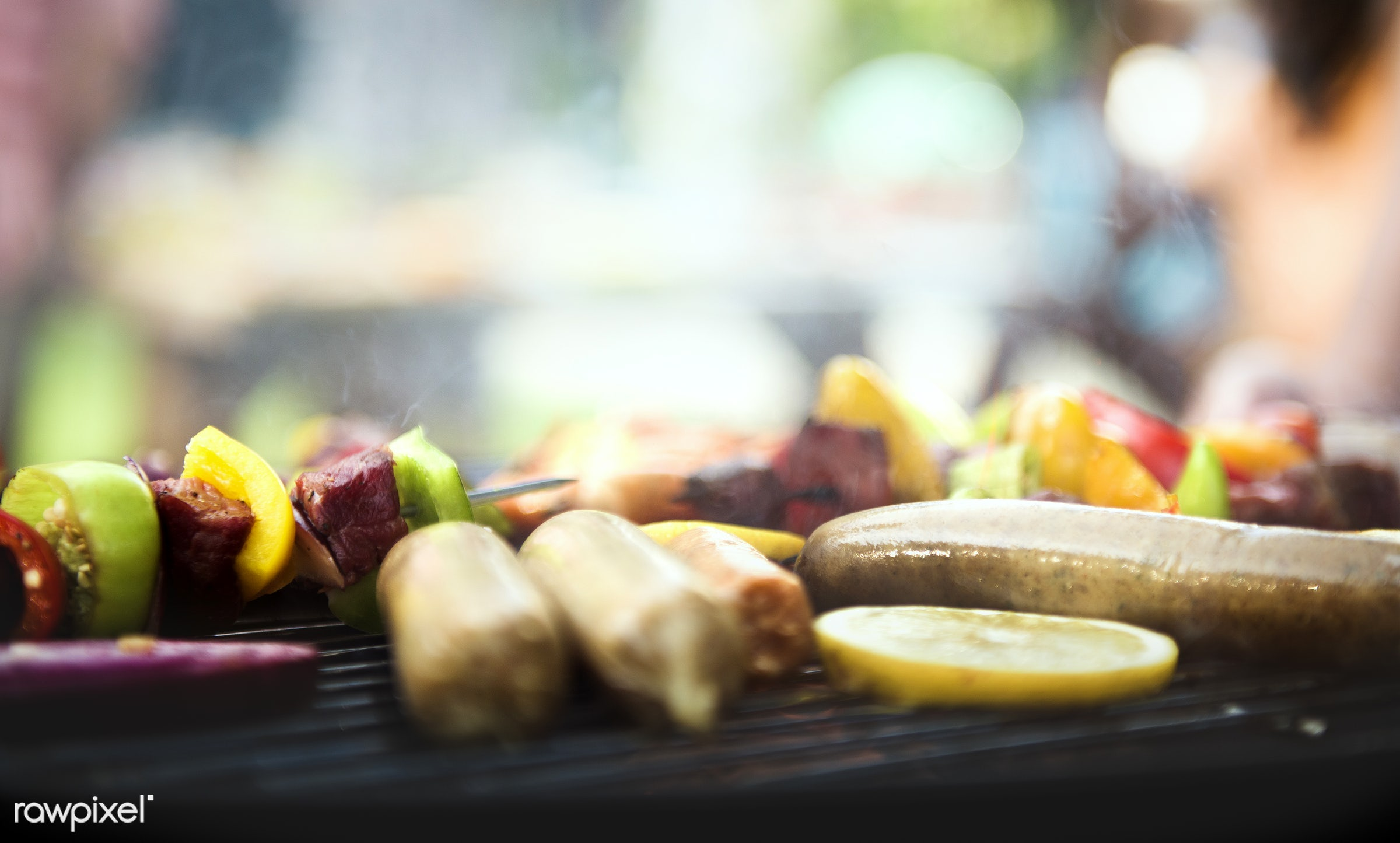 bbq, barbecue, cooking, corns, diverse, feet, food, fresh, friends, grass, grill, group, hands, holiday, homemade, leisure,...