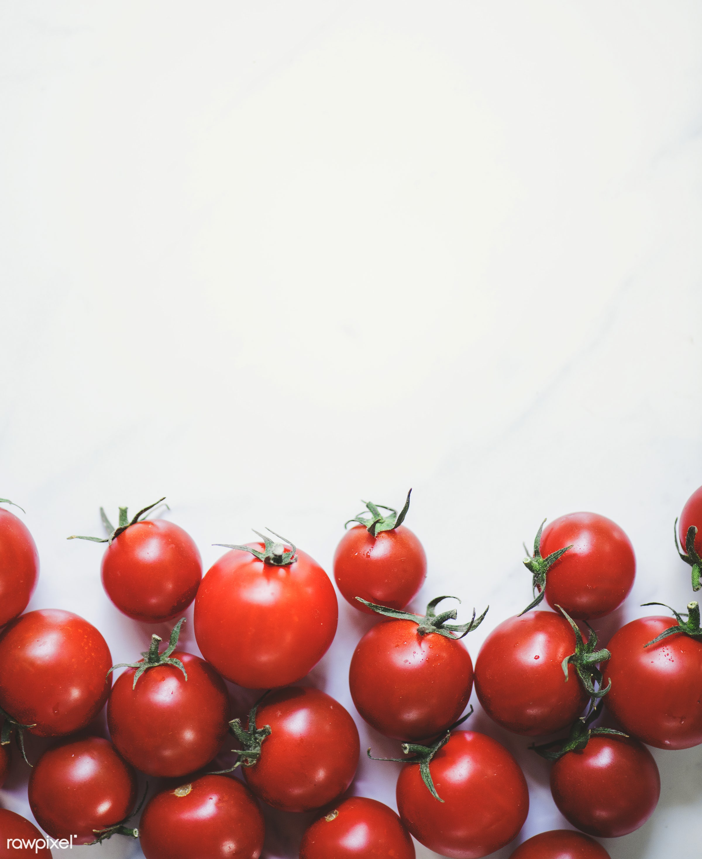 Tomatoes - raw, nobody, isolated on white, farm, real, nature, fresh, aerial view, products, closeup, isolated, agriculture...