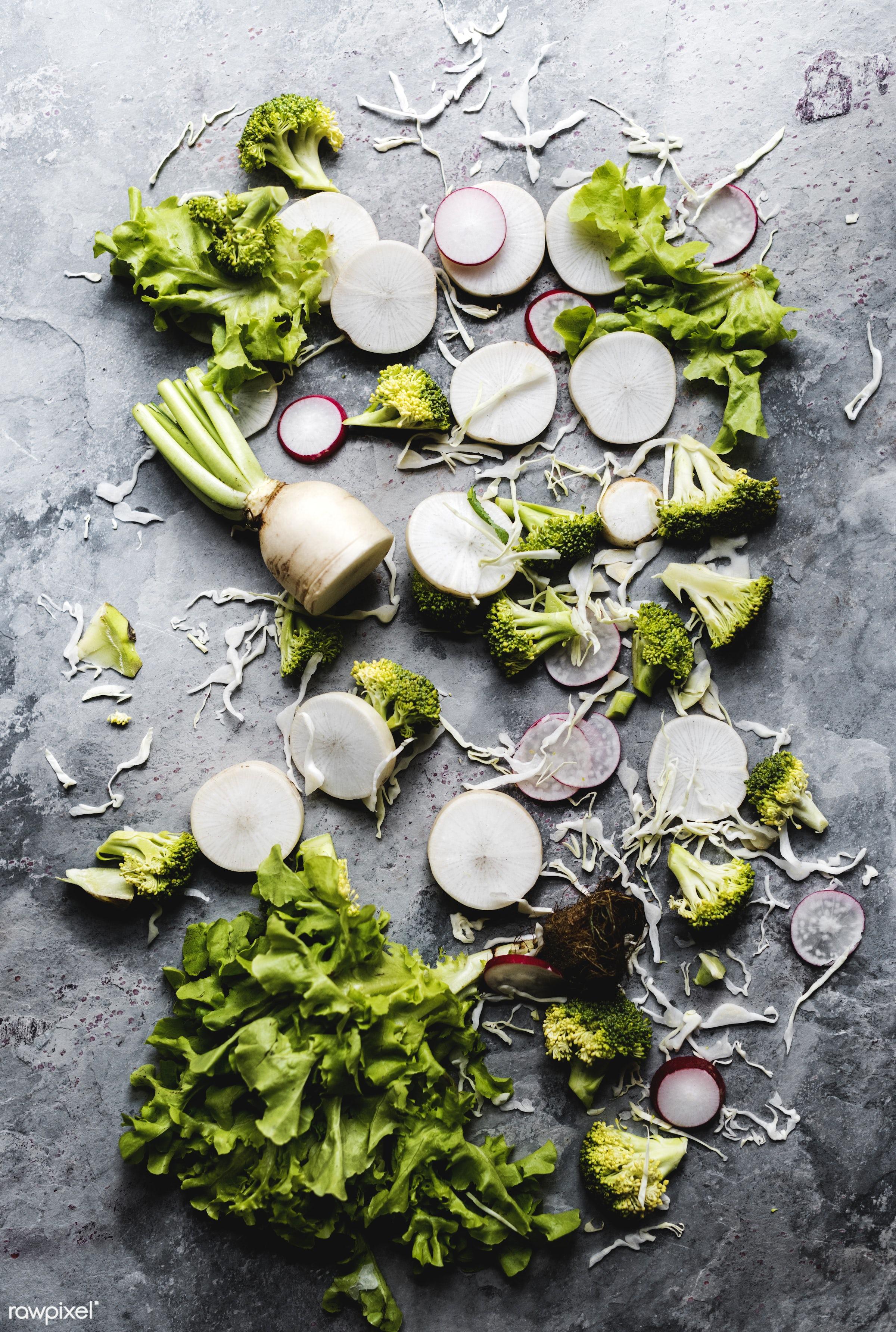 different, raw, variation, gastronomy, type, kind, fresh, vegetarian, cooking, ingredient, gourmet, nourishment, vegetables...