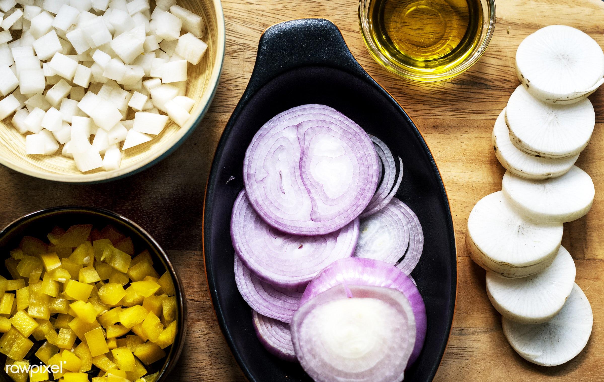 recipe, variation, type, gastronomy, ingredient, gourmet, cutting board, flavor, kitchen, red onion, health, nutrition, food...