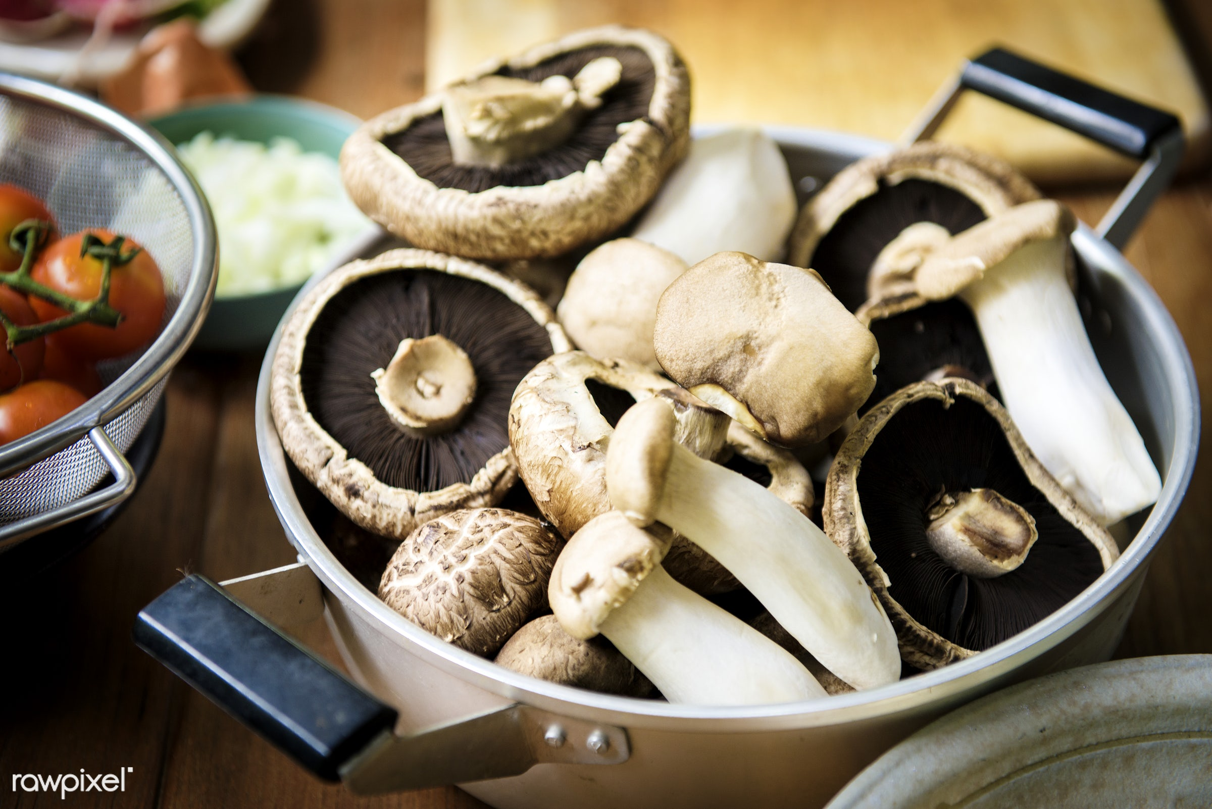 plant, mushroom, raw, nobody, ingredients, farm, real, nature, fresh, products, closeup, eryngii, agriculture, organic,...