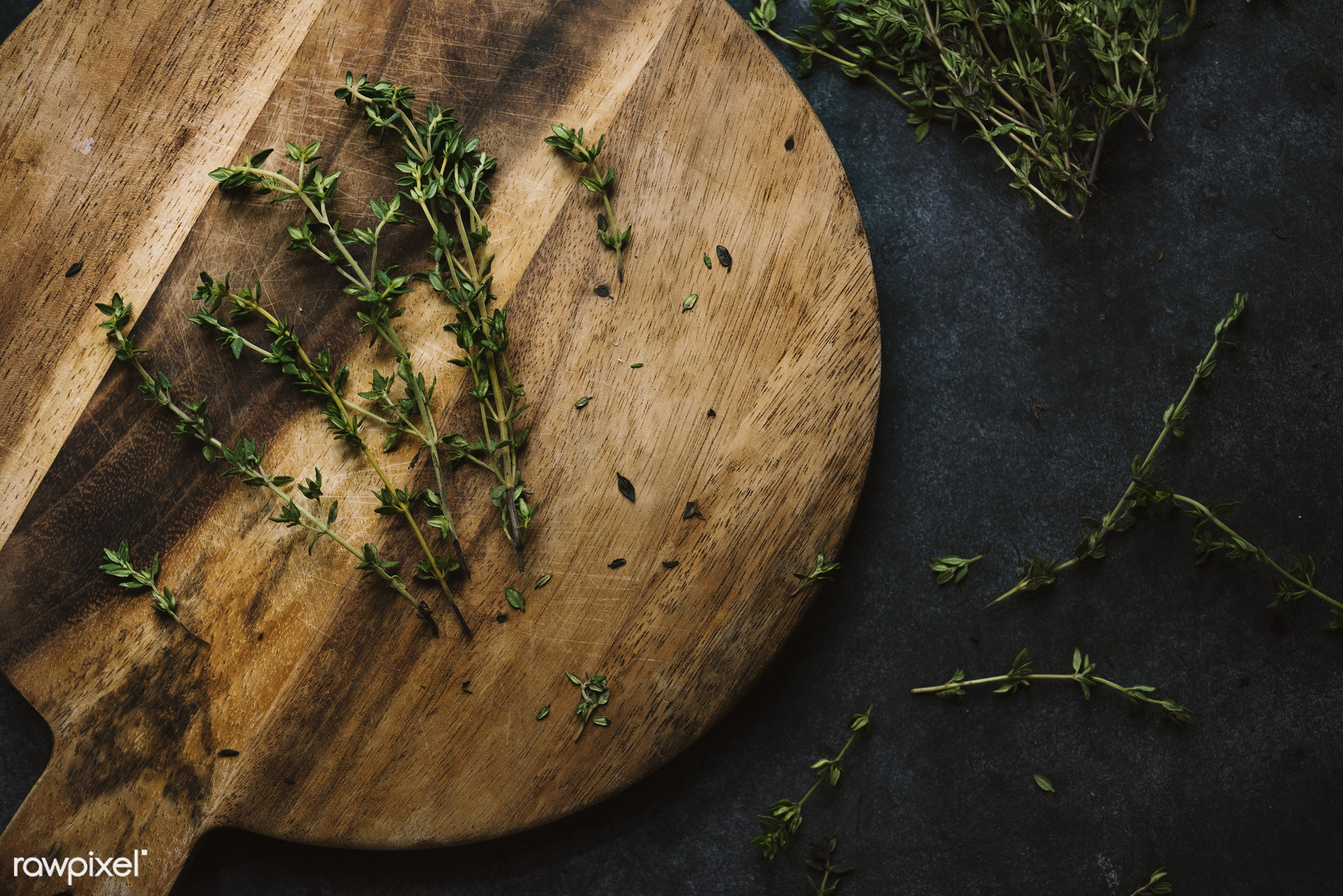 plant, raw, nobody, thymes, leaves, spices, real, organic, seasoning, nature, herb, fresh, food, background, ingredient,...