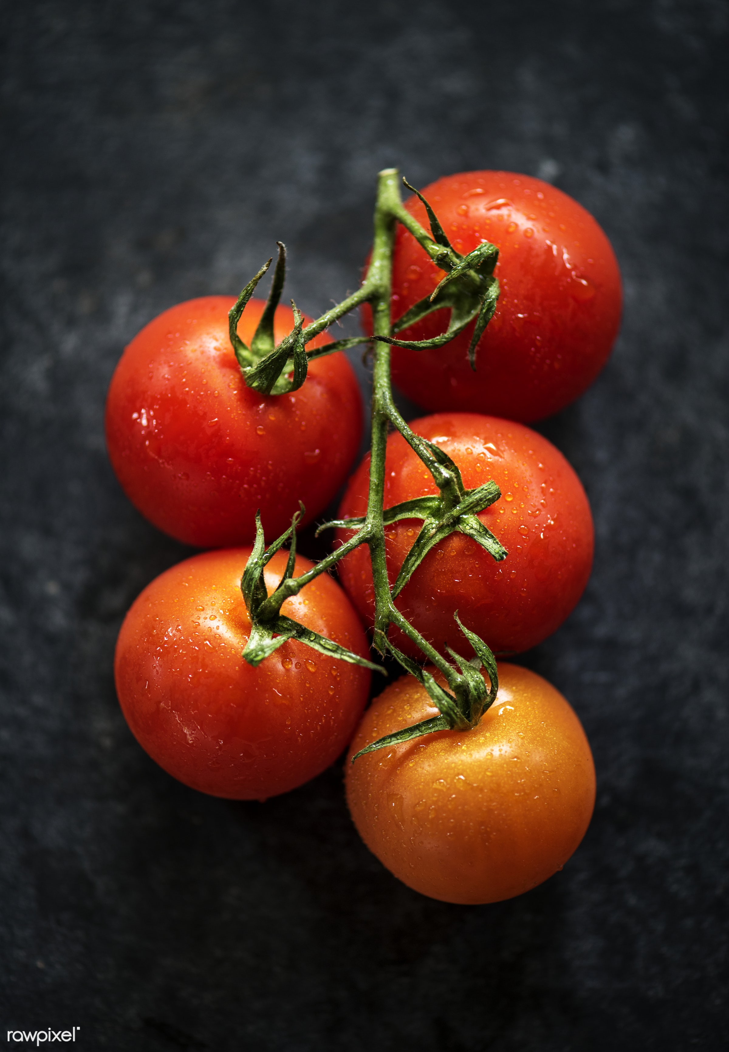 raw, plant, nobody, tomato, black background, real, organic, red, nature, fresh, food, background, ripe, cultivated,...