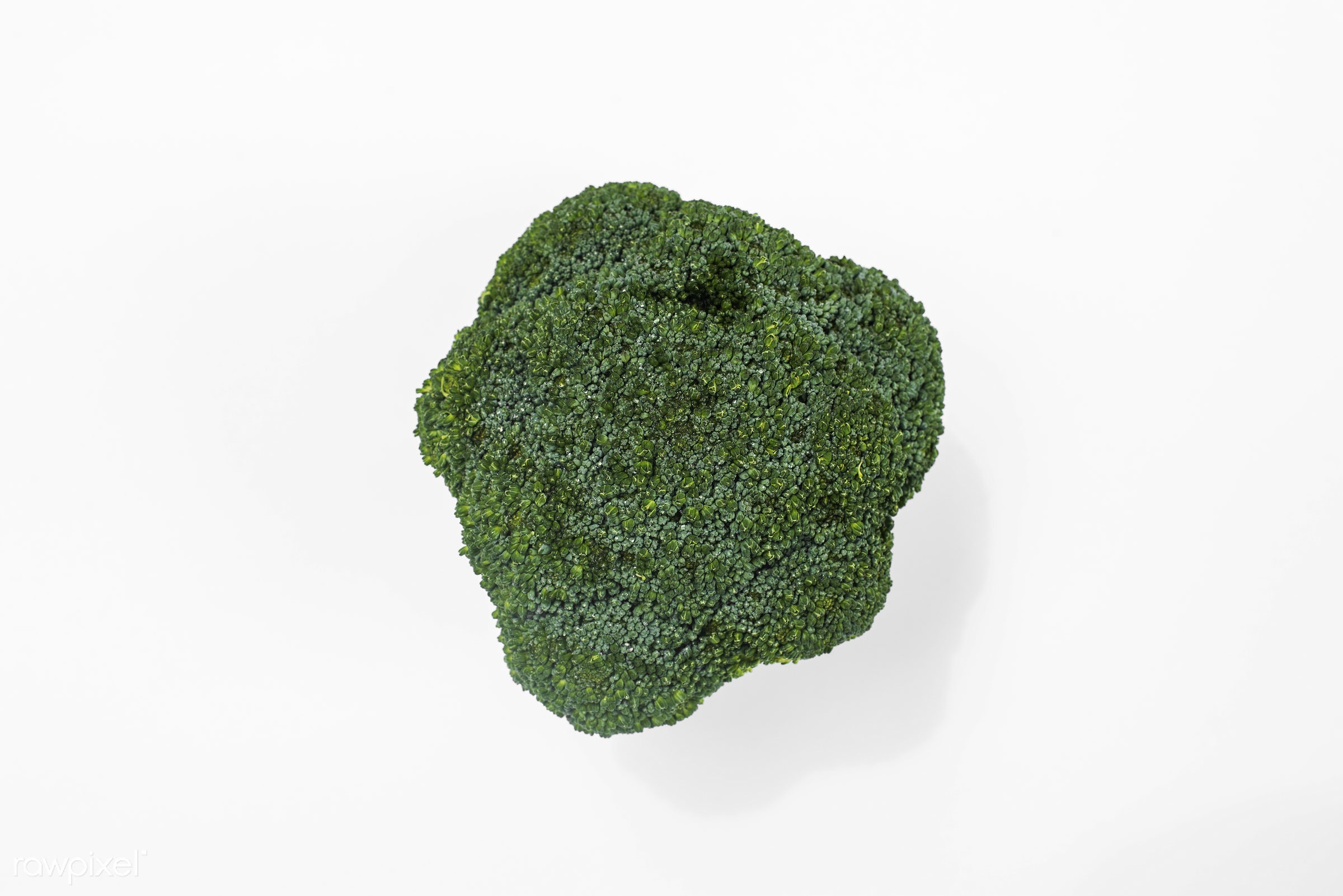 superfood, nobody, isolated, isolated on white, green, white background, real, organic, nature, fresh, broccoli, vegetable,...