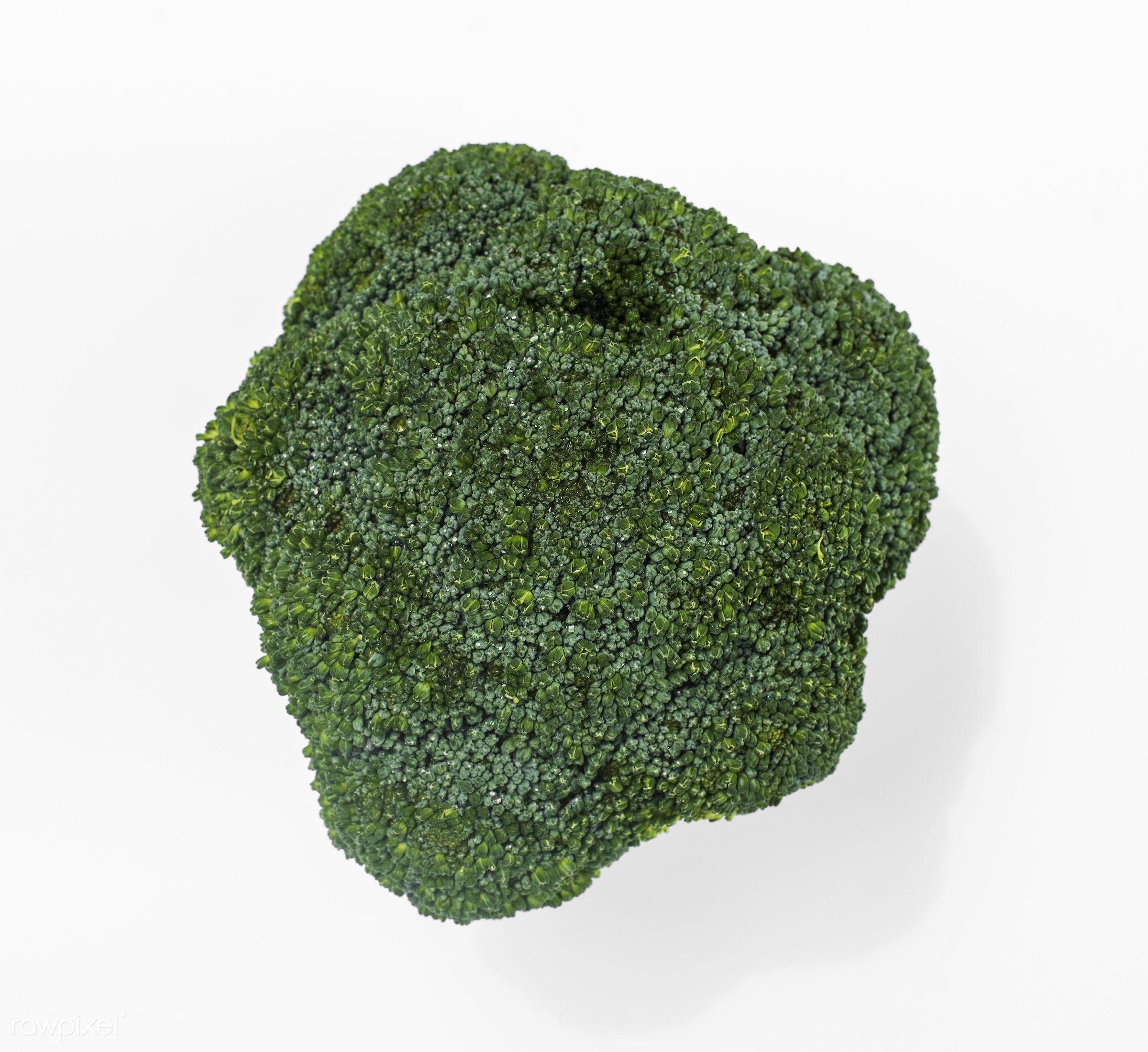 raw, fiber, fresh, broccoli, ingredient, isolated, green, culinary, veggies, edible, nutrition, organic, food, background,...