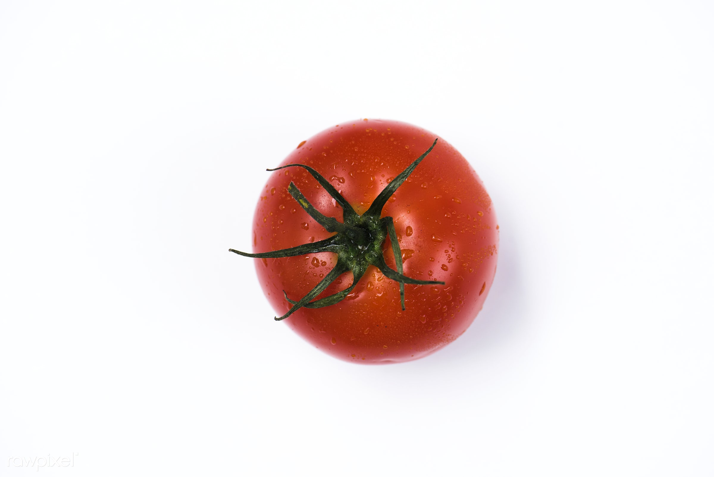 raw, plant, nobody, isolated, tomato, isolated on white, white background, real, organic, red, nature, fresh, food,...