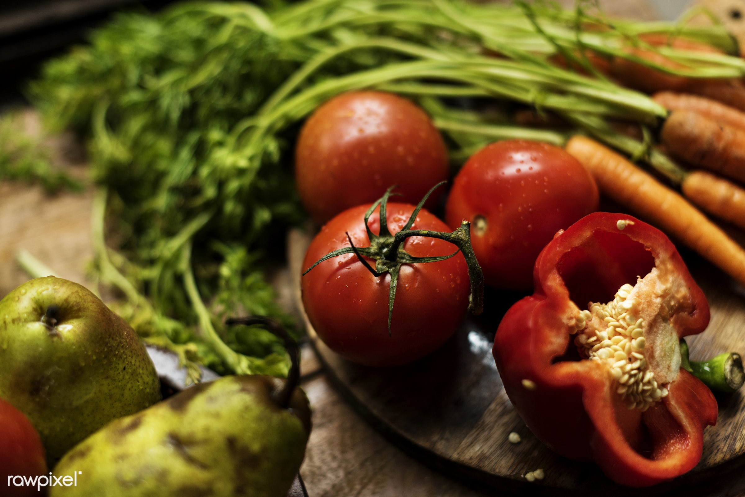 raw, different, tomato, bell pepper, fiber, kind, fresh, ingredient, green, culinary, veggies, variety, edible, nutrition,...