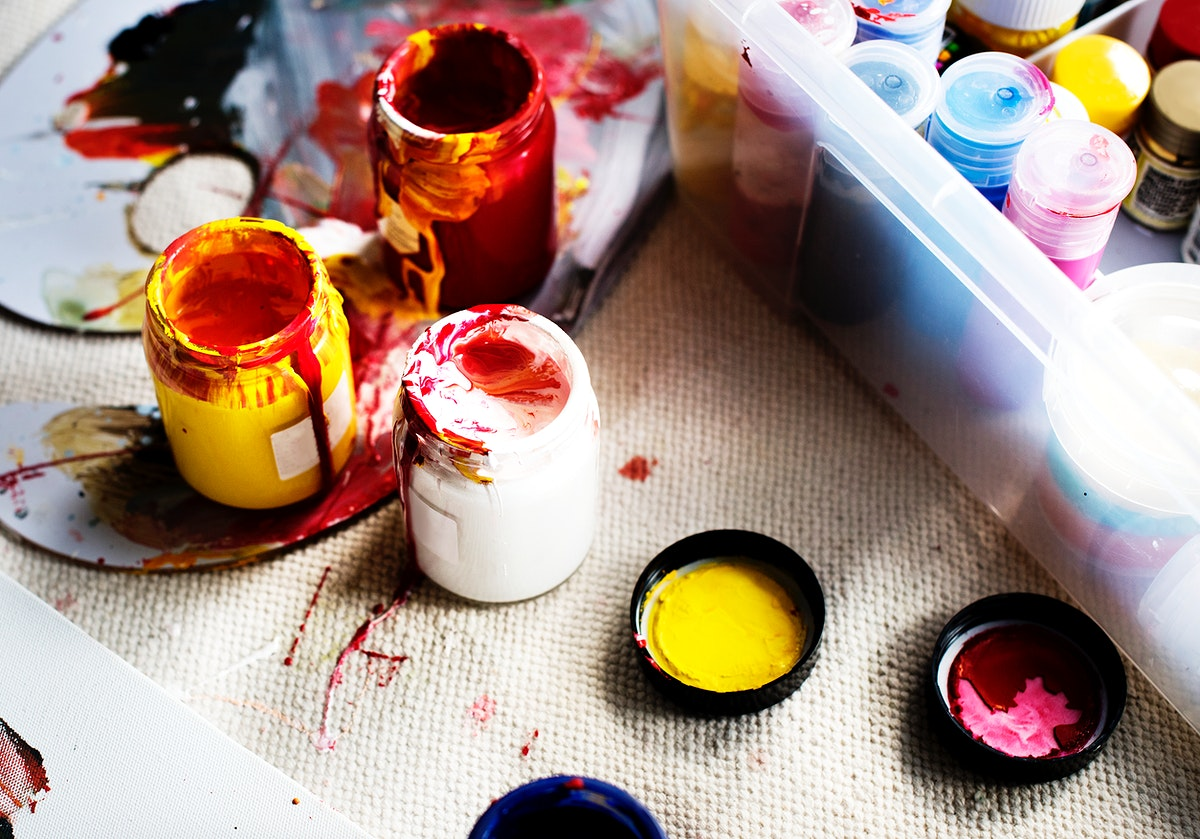 Art paint colors equipment hobby leisure