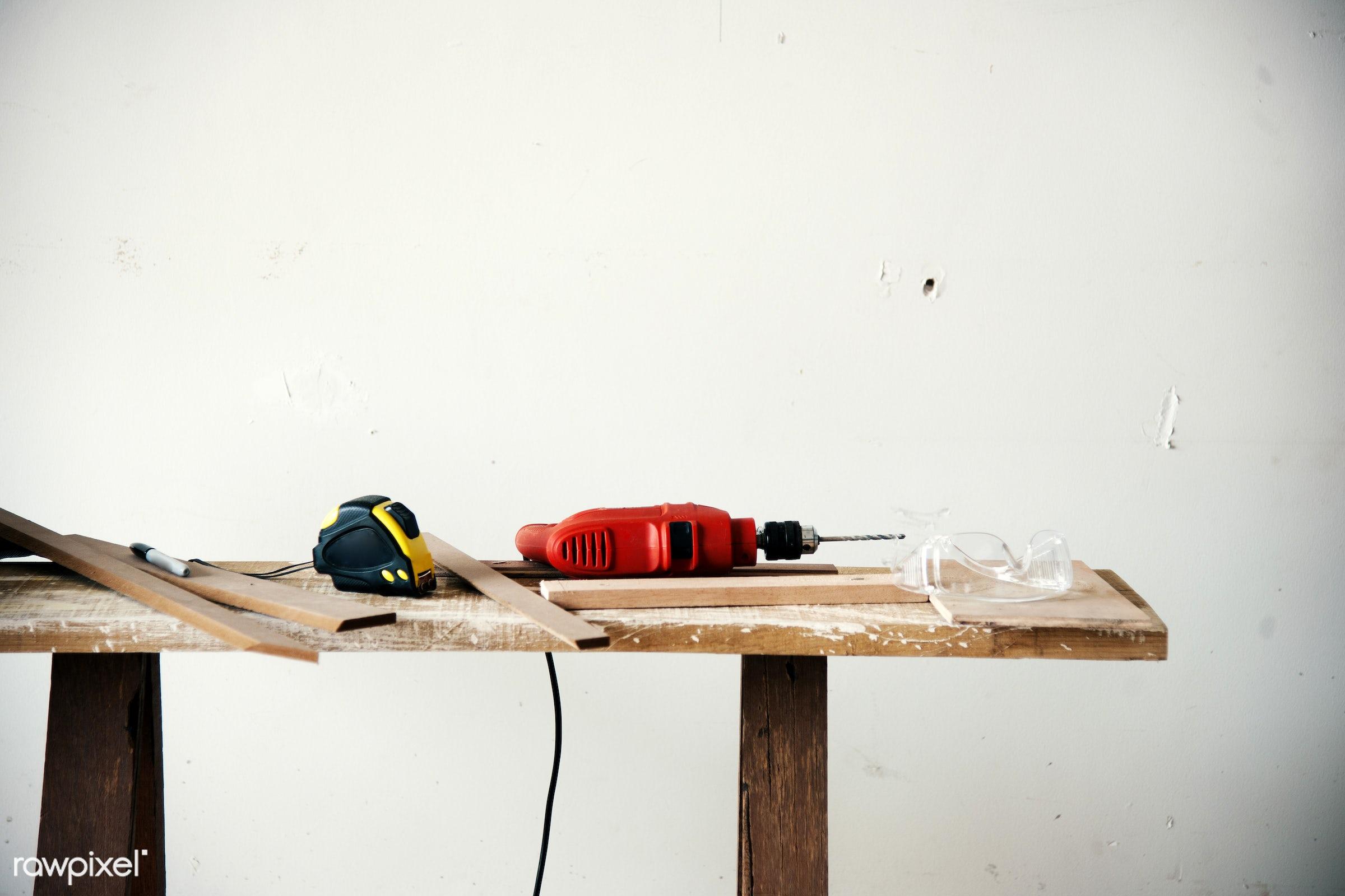 craft, wood, carpentry, tool, plank, equipment, diy, carpenter, handyman, craftsman, worker, drill, repair, industry,...