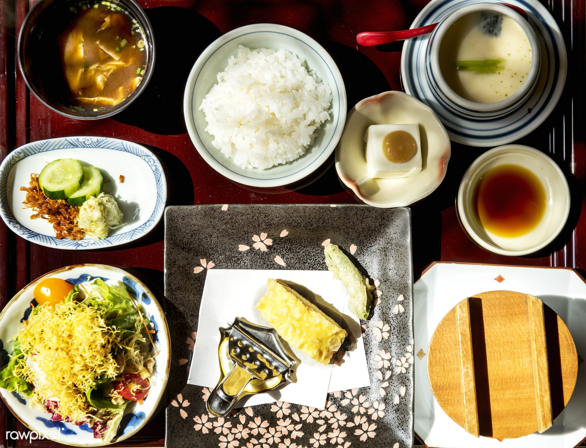 Japanese food - japan, asia, asian, closeup, combination, cuisine, culture, delicious, dinner, eating, food, fresh, gourmet...