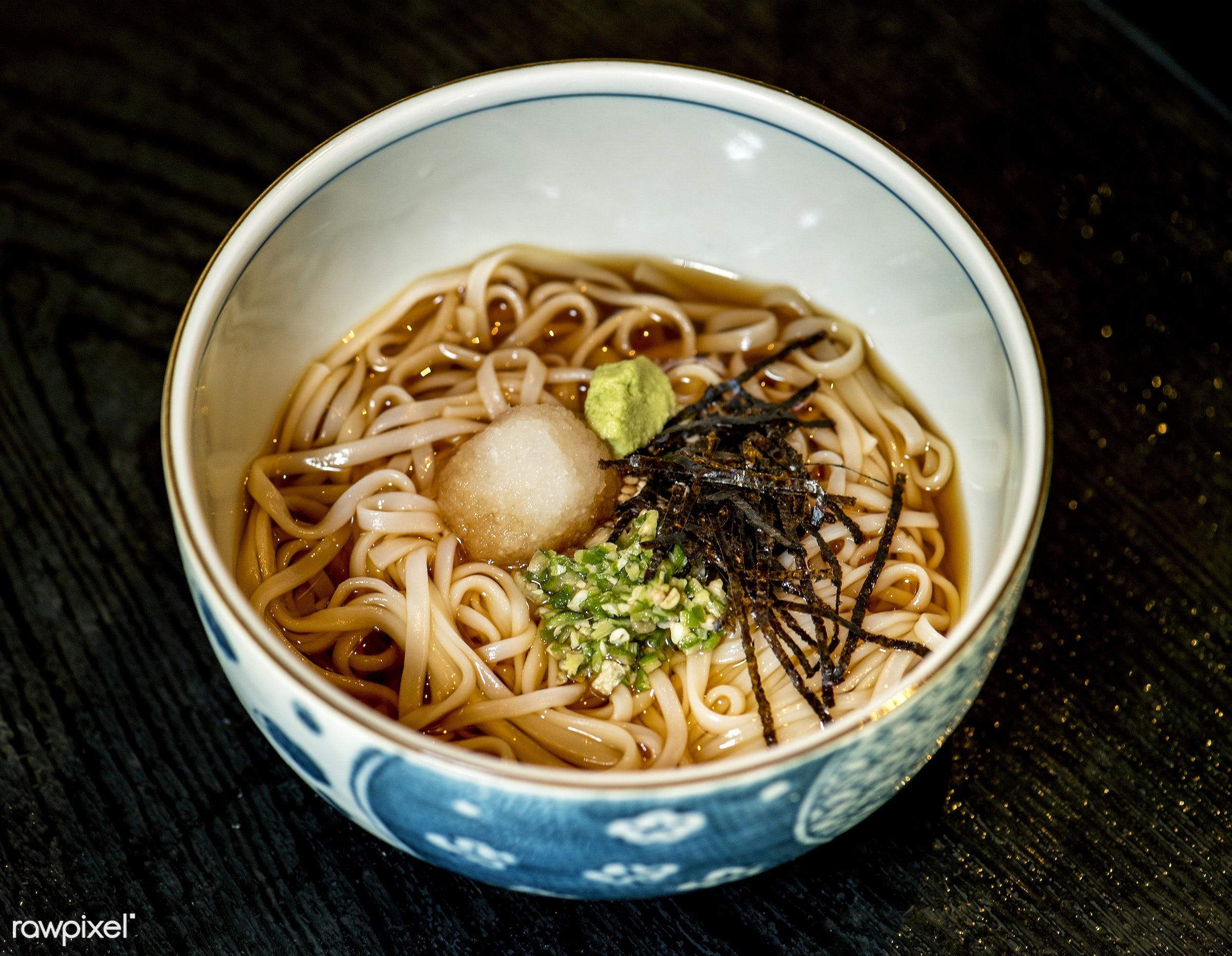 Japanese cuisine - japan, oriental, asia, asian, bowl, closeup, cuisine, delicious, eating, food, fresh, gourmet, healthy,...