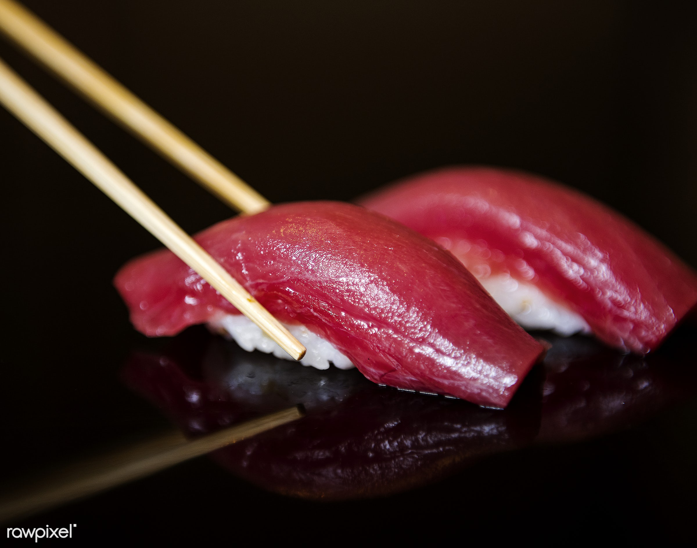 Japanese food - japan, sushi, tasty, asia, asian, chopsticks, closeup, cuisine, delicious, eating, fish, food, fresh,...