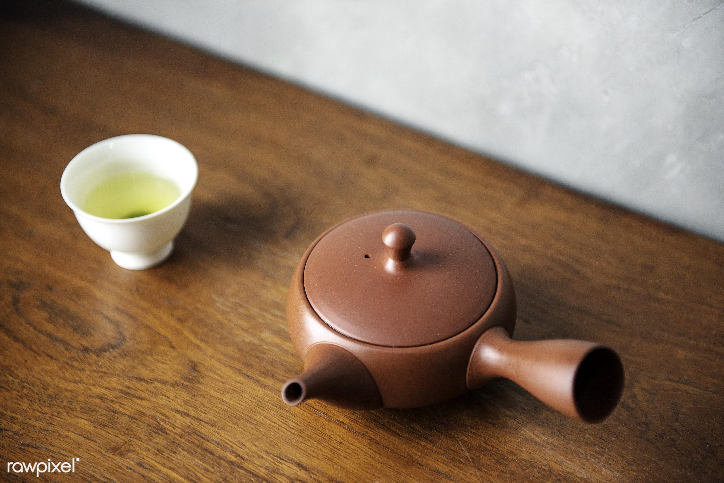 Japanese culture tea pot set - matcha, japan, japanese, tea, asia, asian, beverage, ceremony, chinese, culture, drink,...