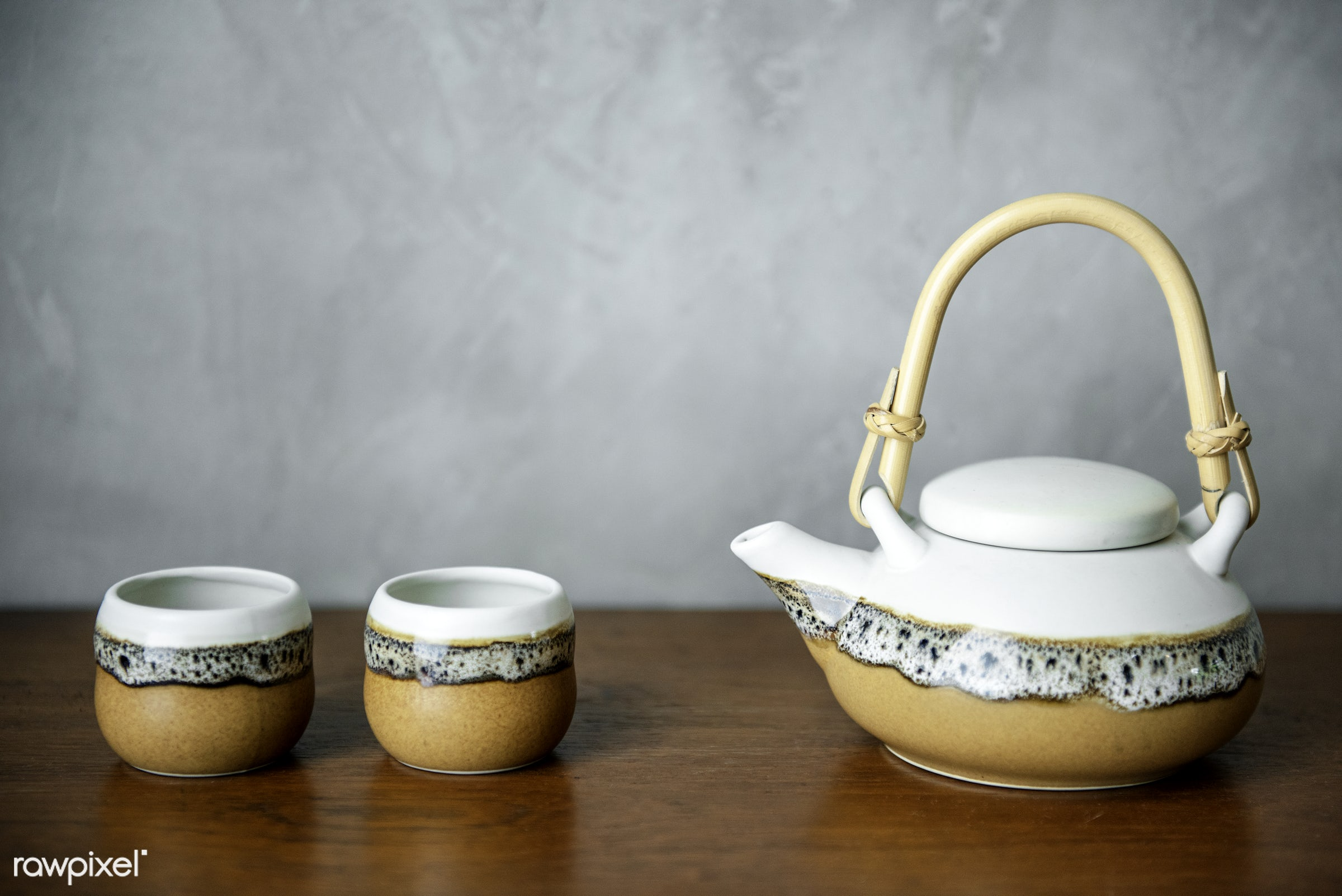 Japanese culture tea pot set - japan, japanese, asia, asian, beverage, ceremony, chinese, culture, drink, gourmet, healthy...