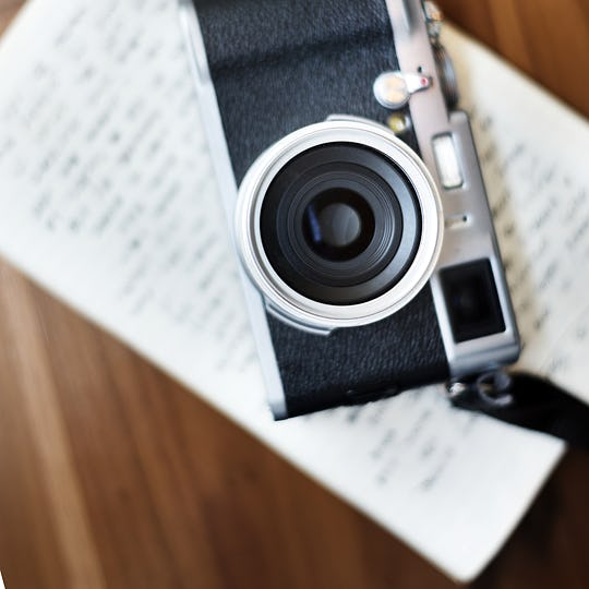 Vintage Camera Tool Hobby Photography Concept