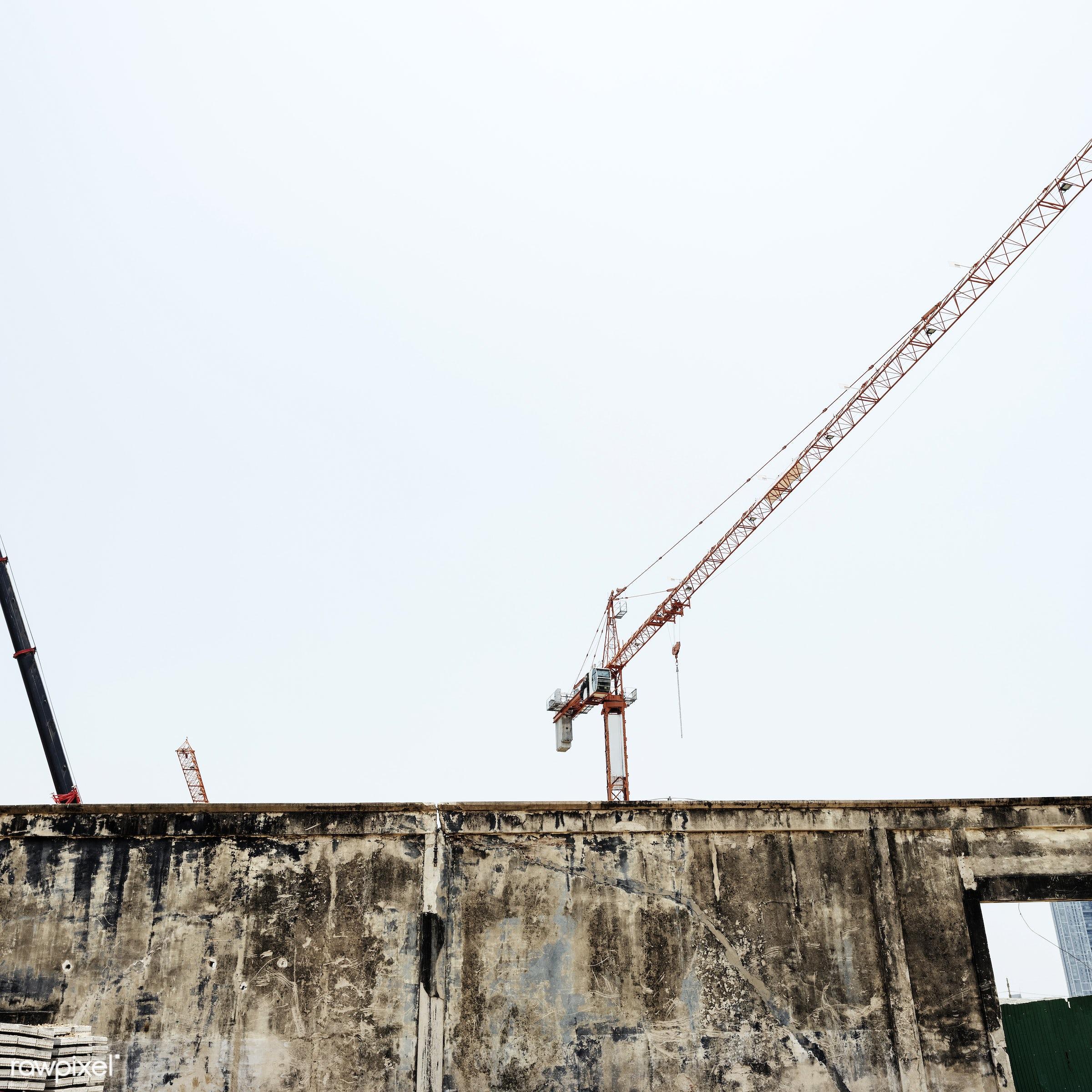 Construction site - construction, engineering, building, built, career, construction site, engineer, equipment, machine,...