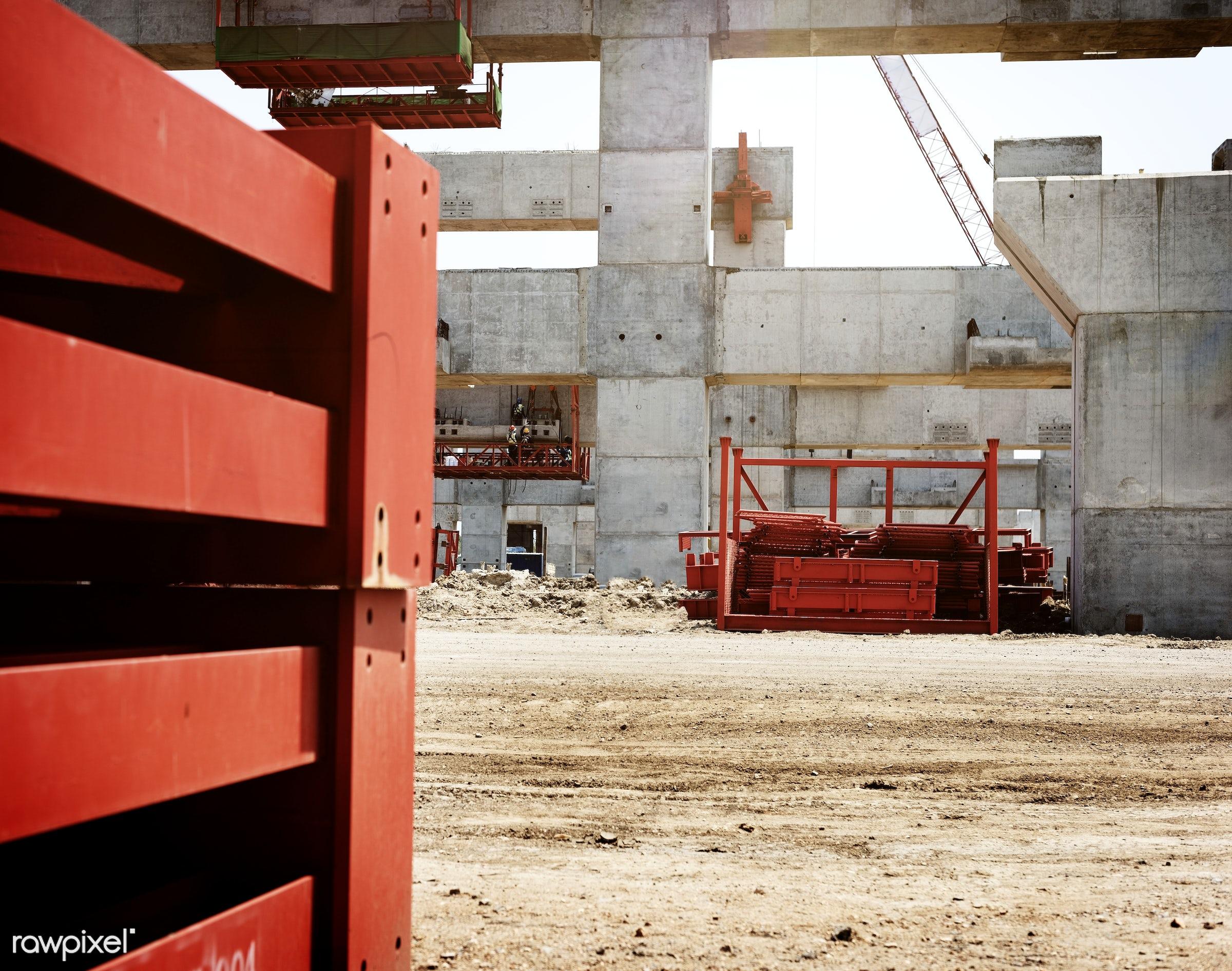 Construction site - construction, construction site, engineer, project, building, built, career, engineering, equipment,...