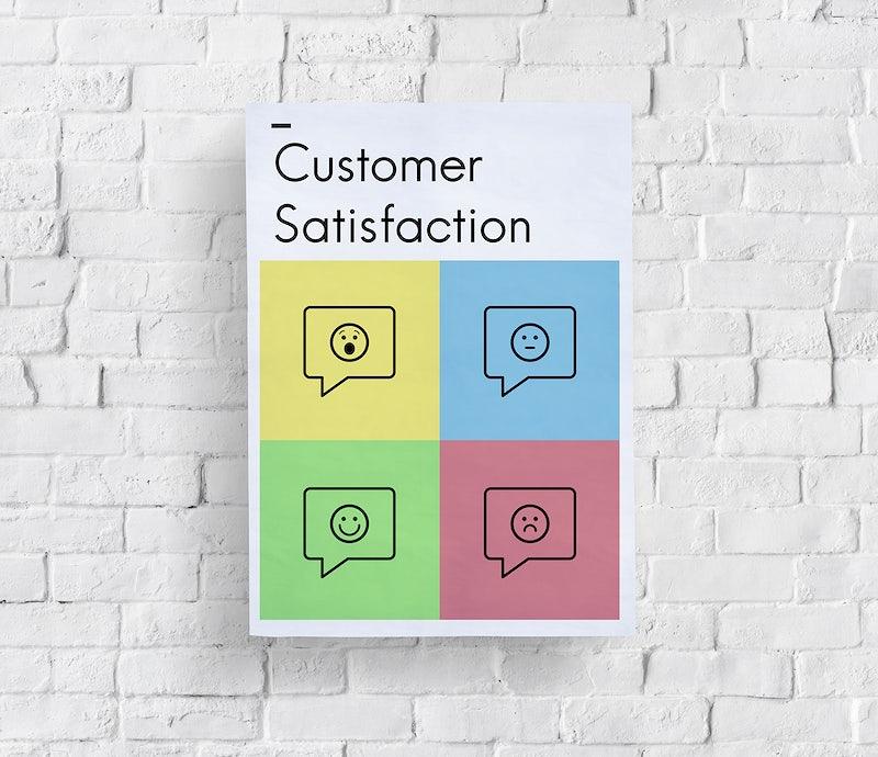 Customer Service Satisfaction Feedback Icon