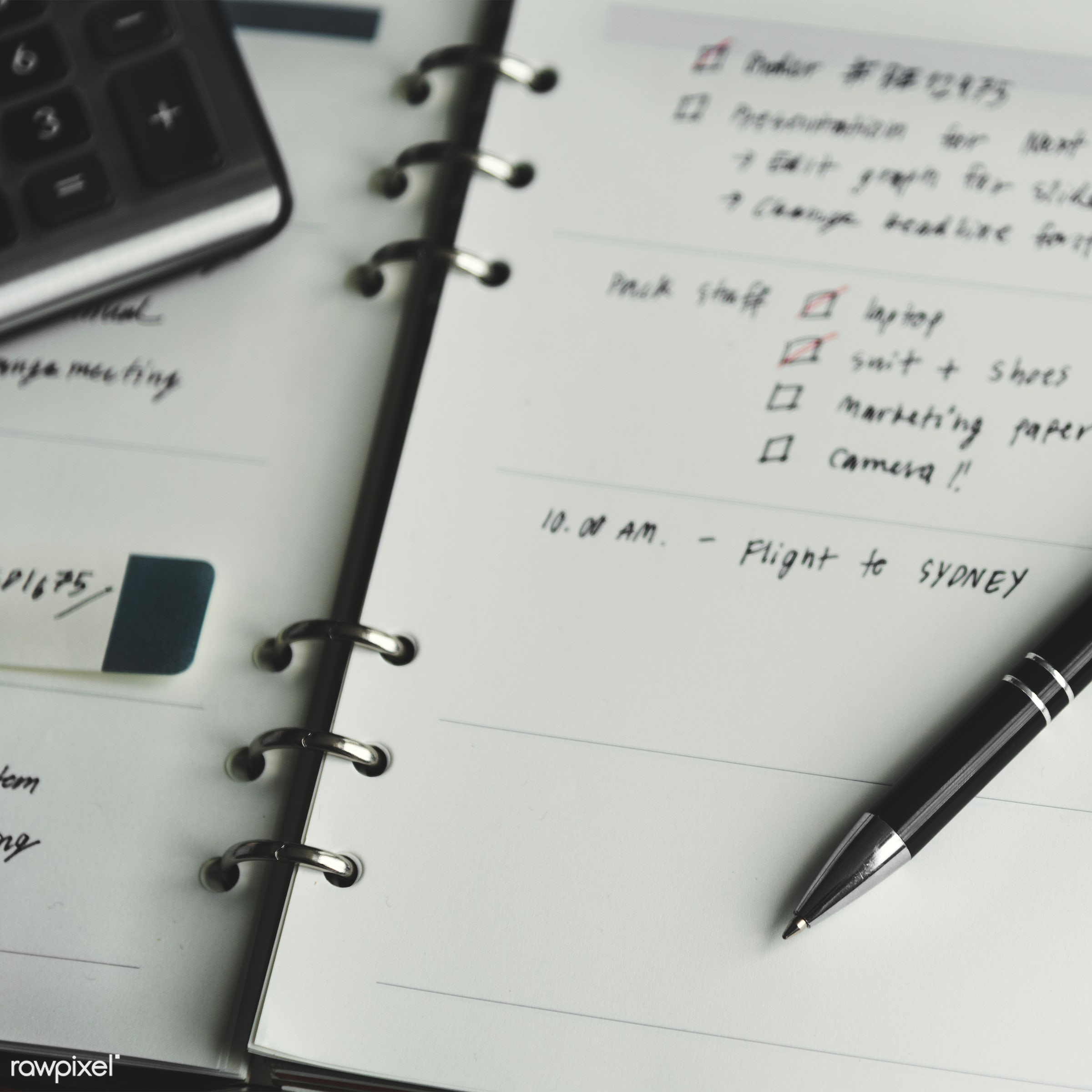 Caucasian businessman in the office shoot - schedule, list, binder, close up, dates, management, meeting, notebook, notepad...