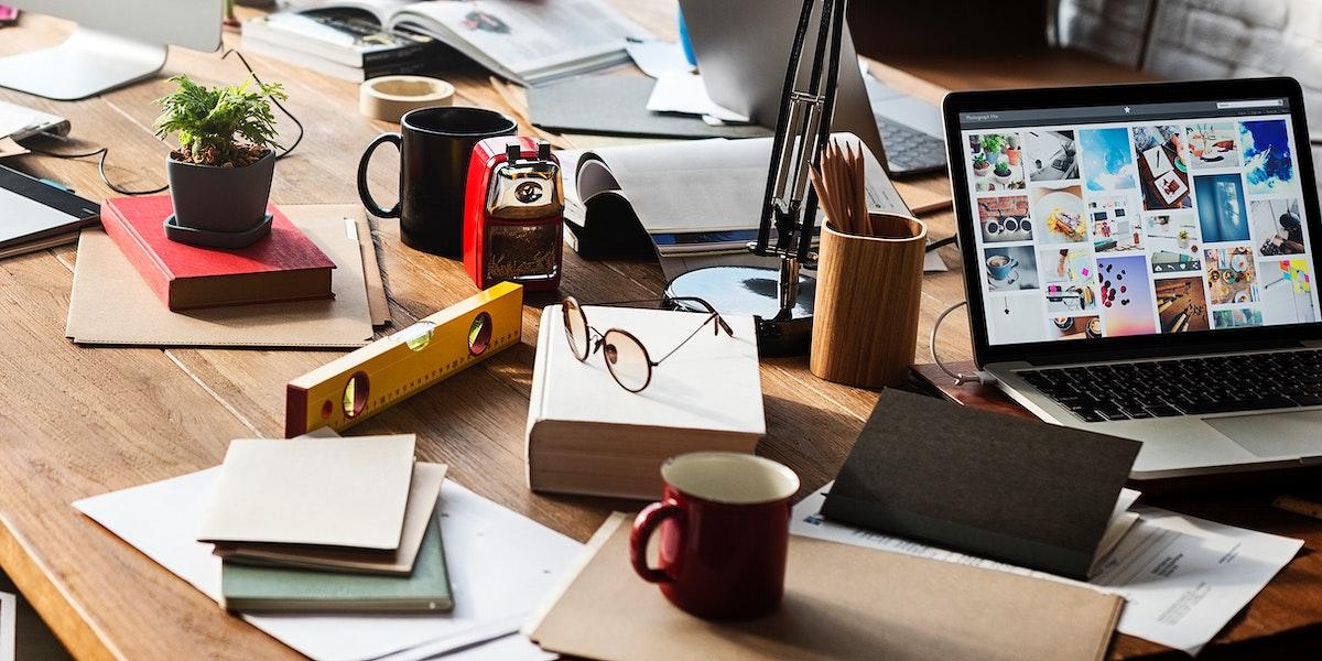 Modern office concept