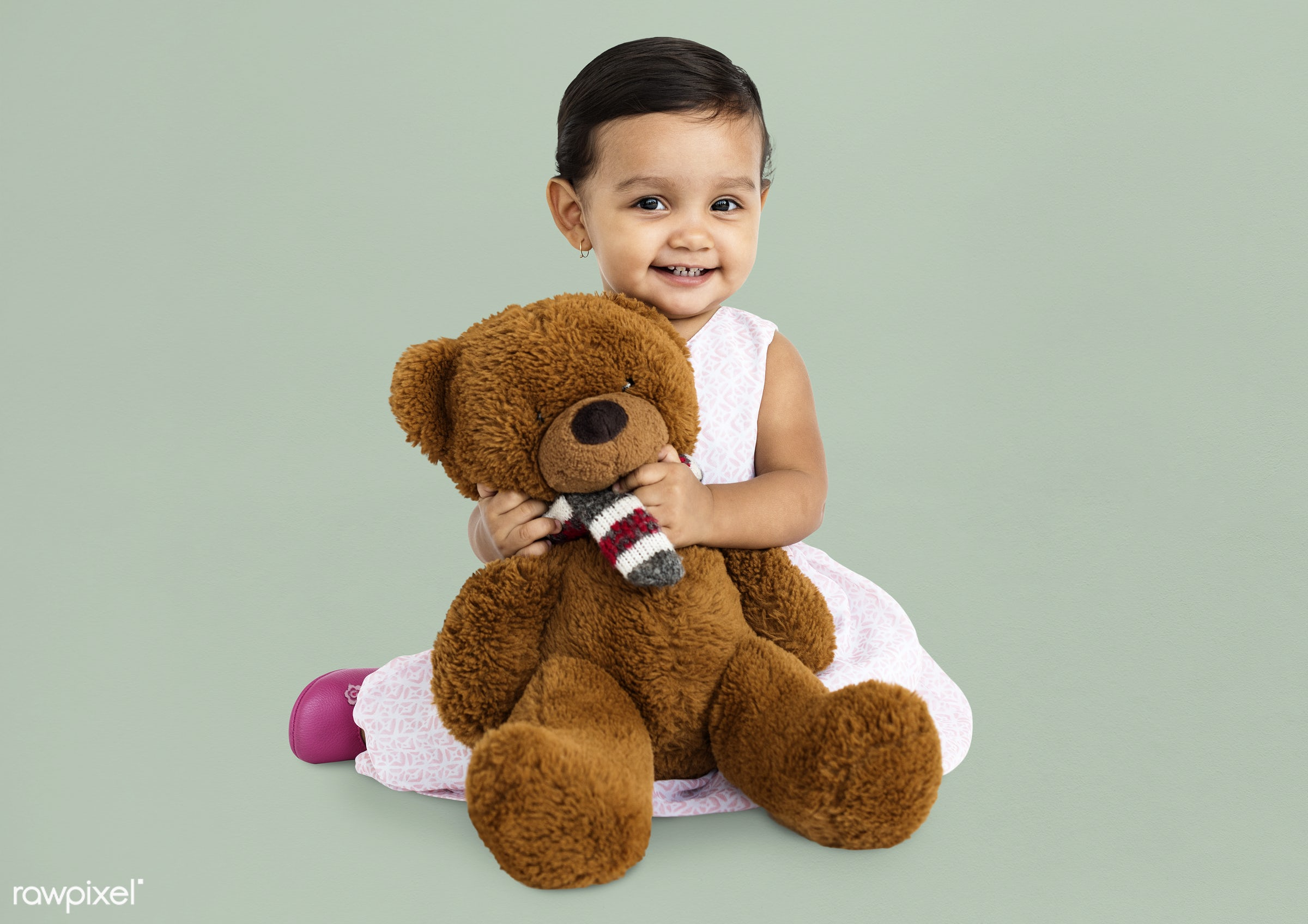 expression, studio, person, hug, soft toy, teddybear, little, cute, people, kid, child, girl, toy, joyous, happy, cheerful,...