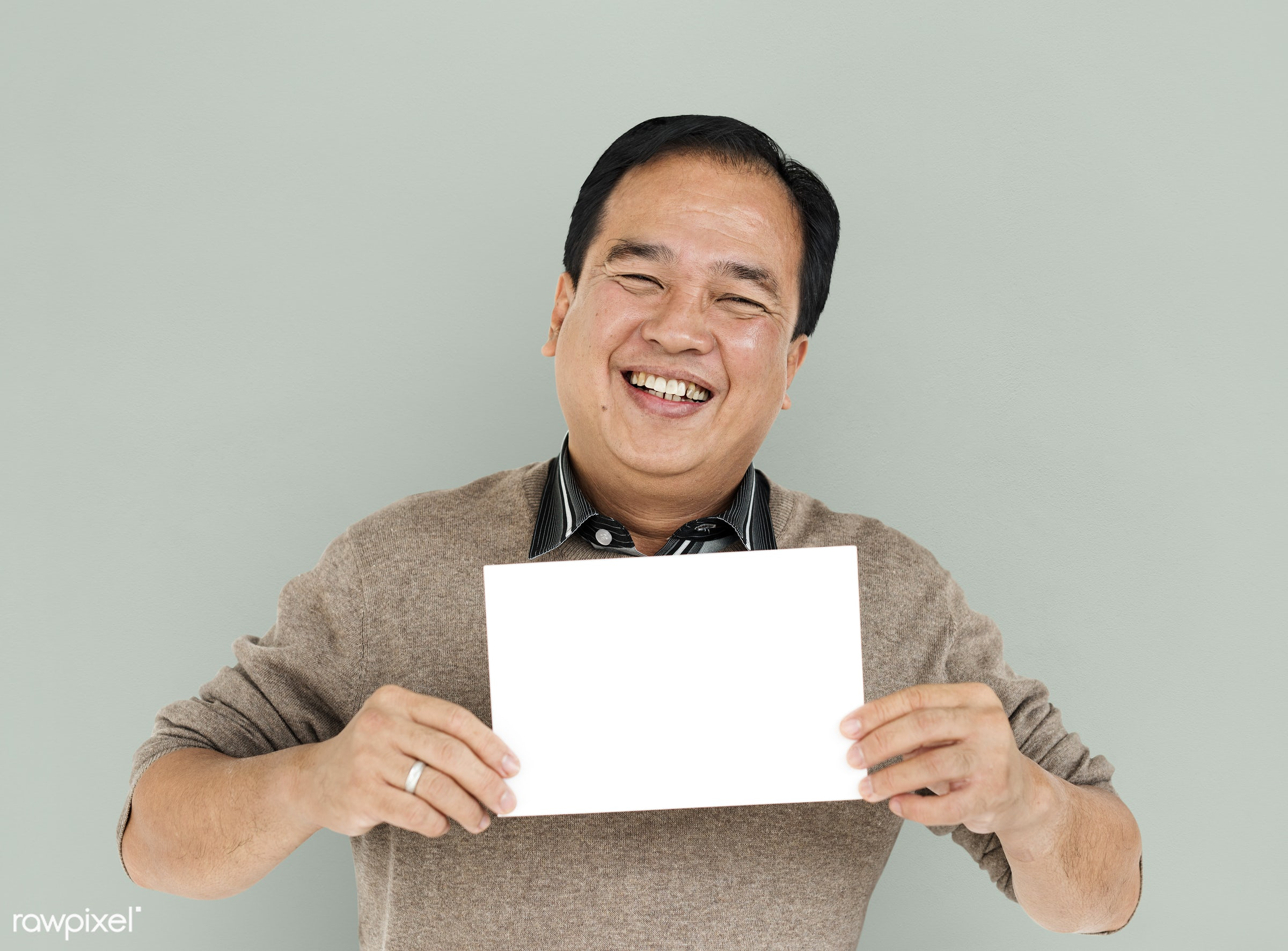 expression, studio, person, placard, smile, isolated, creative, symbolic, image, happiness, board, portrait, emotion,...