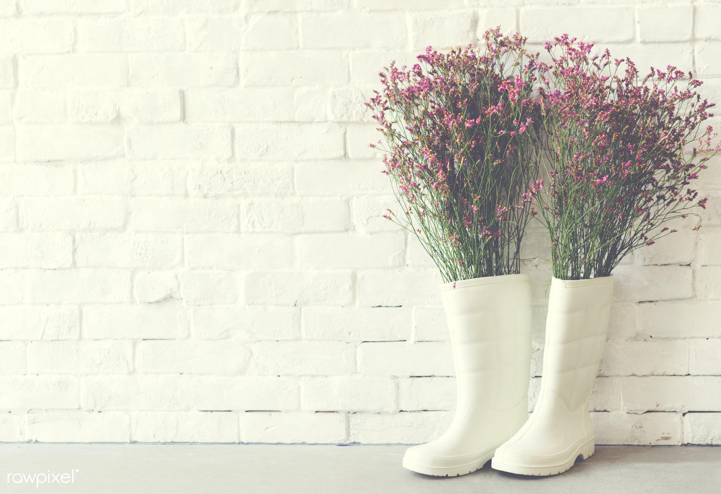 background, be creative, beautiful, beauty, black, bloom, boot, bricks, color, creative, decor, decoration, design,...