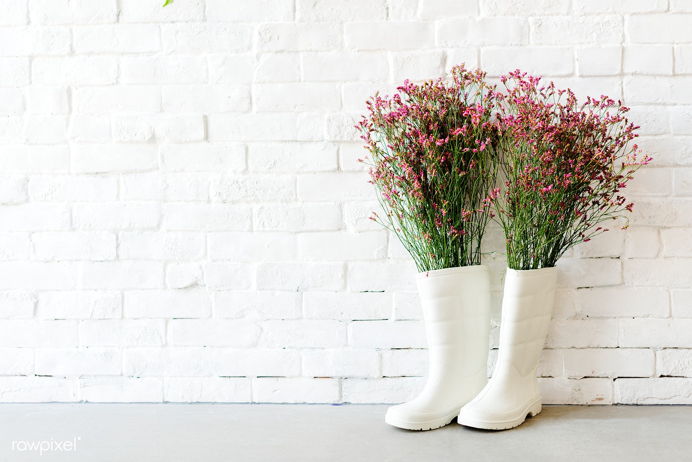 spring, flower, gardening, rain, wall, boot, garden, unique, background, be creative, beautiful, beauty, black, bloom,...