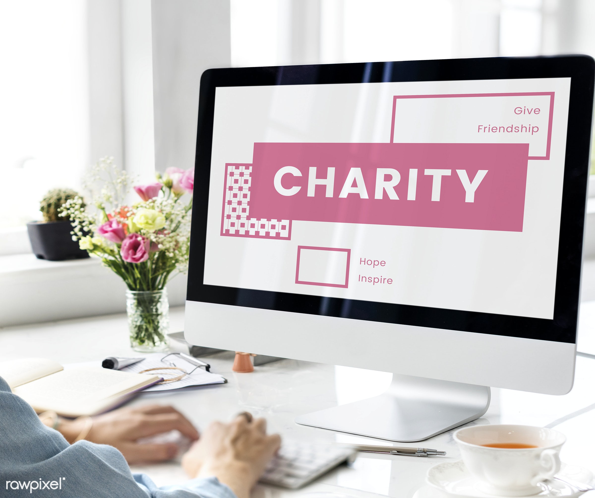 give, charity, communication, computer, connection, design, device, digital, donate, donation, innovation, internet, leisure...