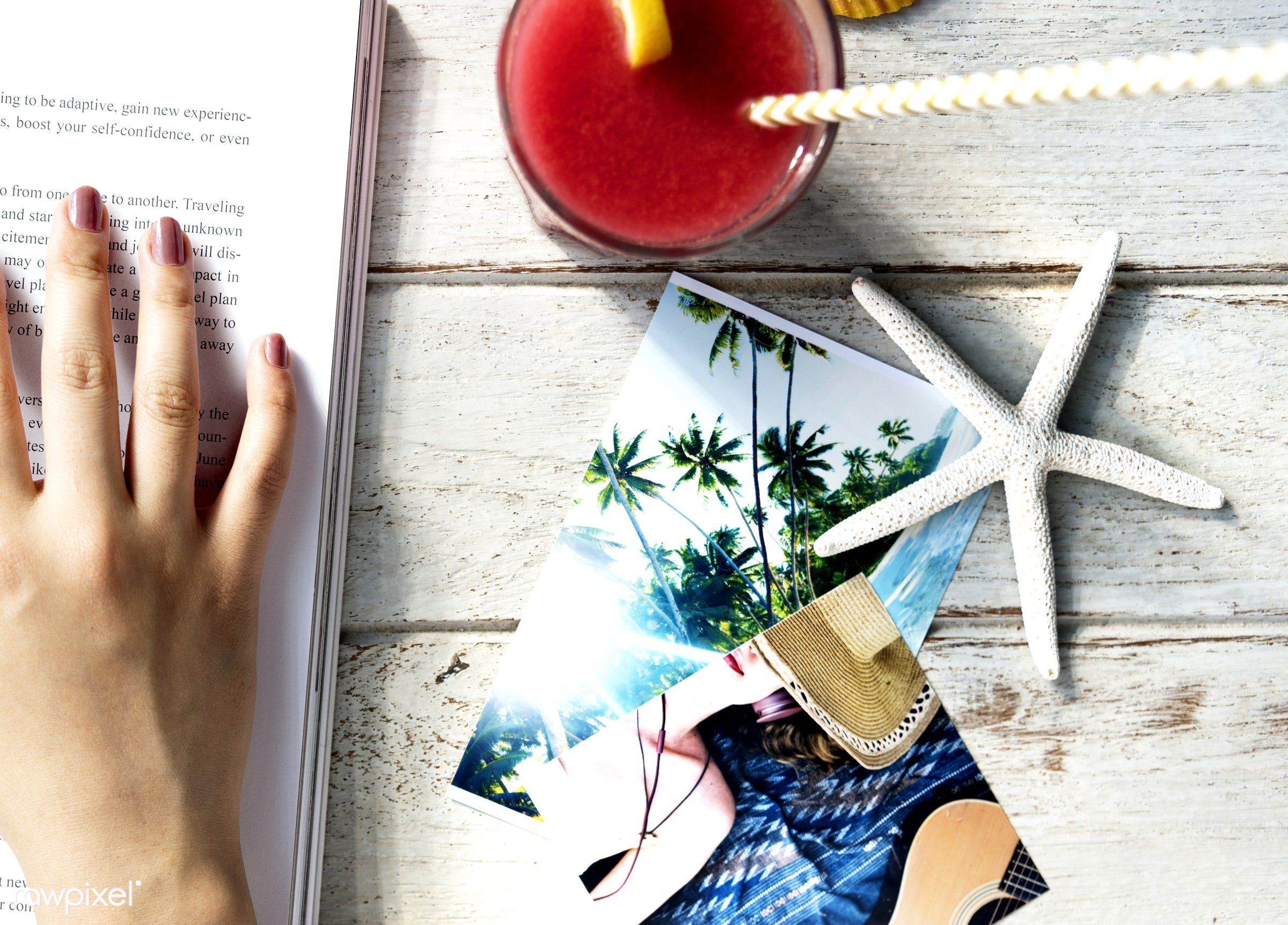 relax, aerial, alone, beach, beverage, book, break, closeup, desk, drink, fiction, hand, hobby, holiday, image, journey,...