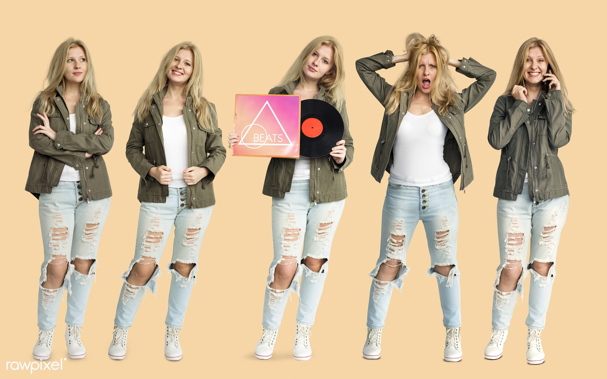 studio, expression, person, diverse, entertain, race, people, attraction, together, disc, caucasian, young adult, woman,...
