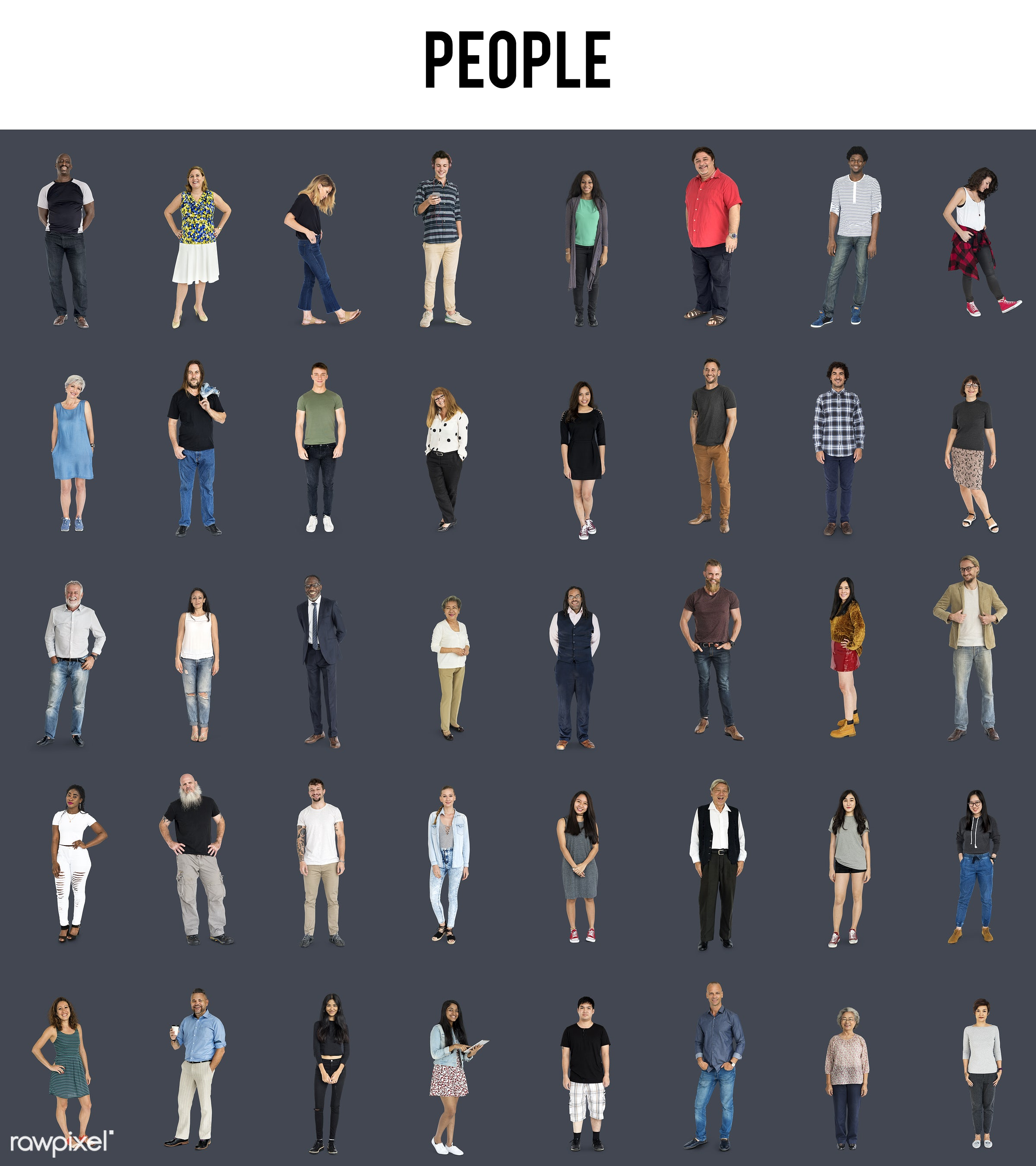 adult, african, age, asian, background, black, casual, caucasian, collection, community, concept, crowd, different, diverse...