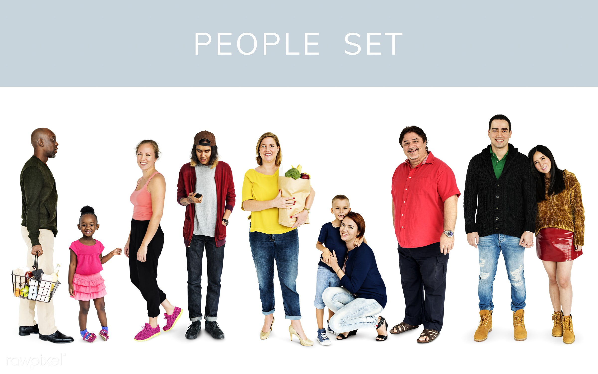 studio, person, diverse, set, children, little, collection, people, together, kid, child, life, woman, lifestyle, boys,...