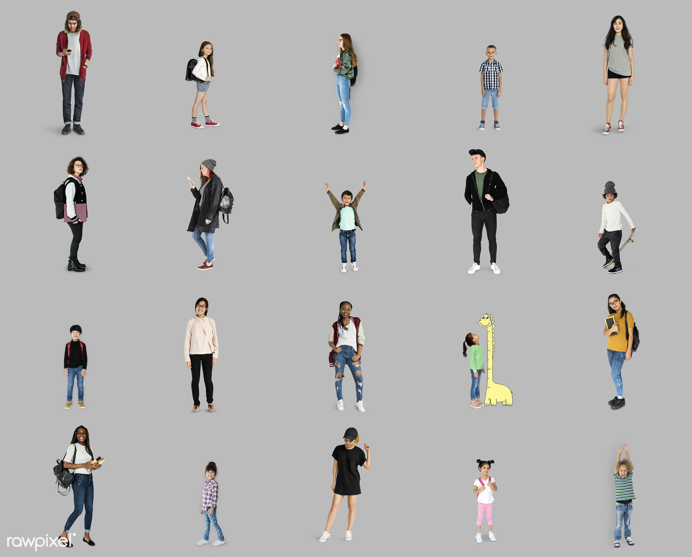 studio, person, diverse, college, little, study, people, kid, woman, lifestyle, studio squareset, cheerful, isolated,...
