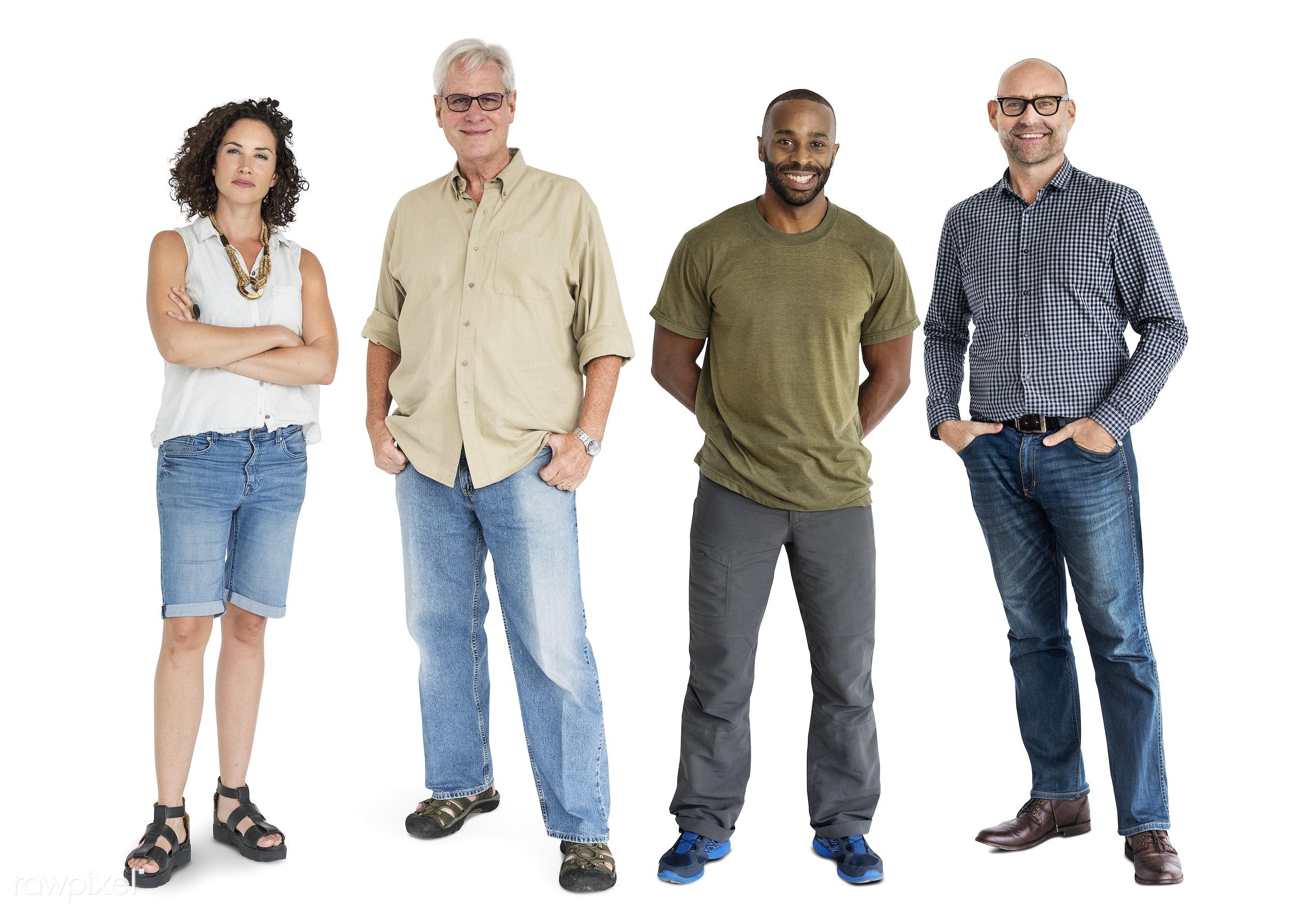 gentlemen, studio, person, diverse, set, retired, retire, people, attraction, together, caucasian, asian, retirement, life,...
