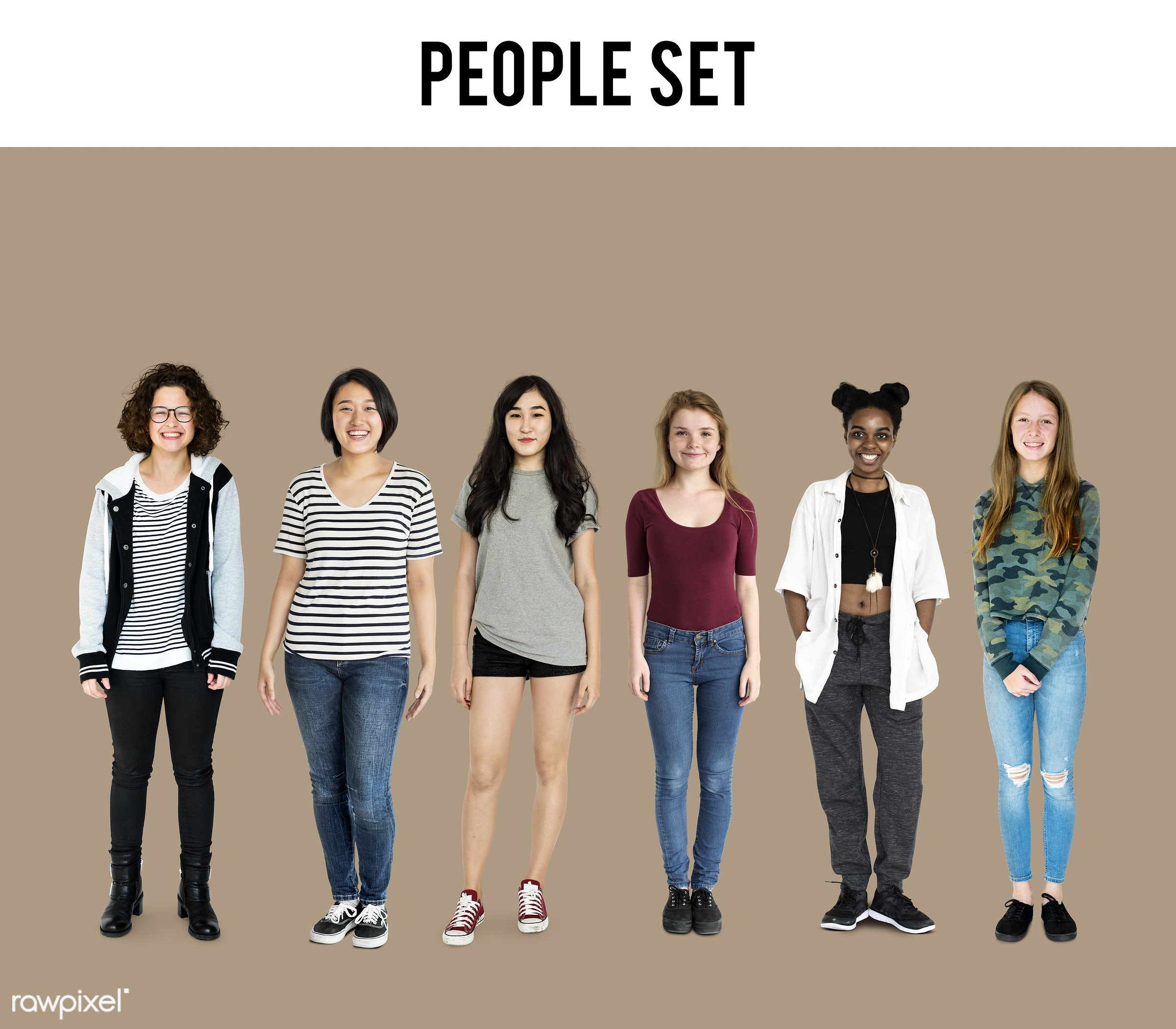 studio, person, diverse, set, little, collection, people, pretty, attraction, together, teenage, life, young adult, woman,...